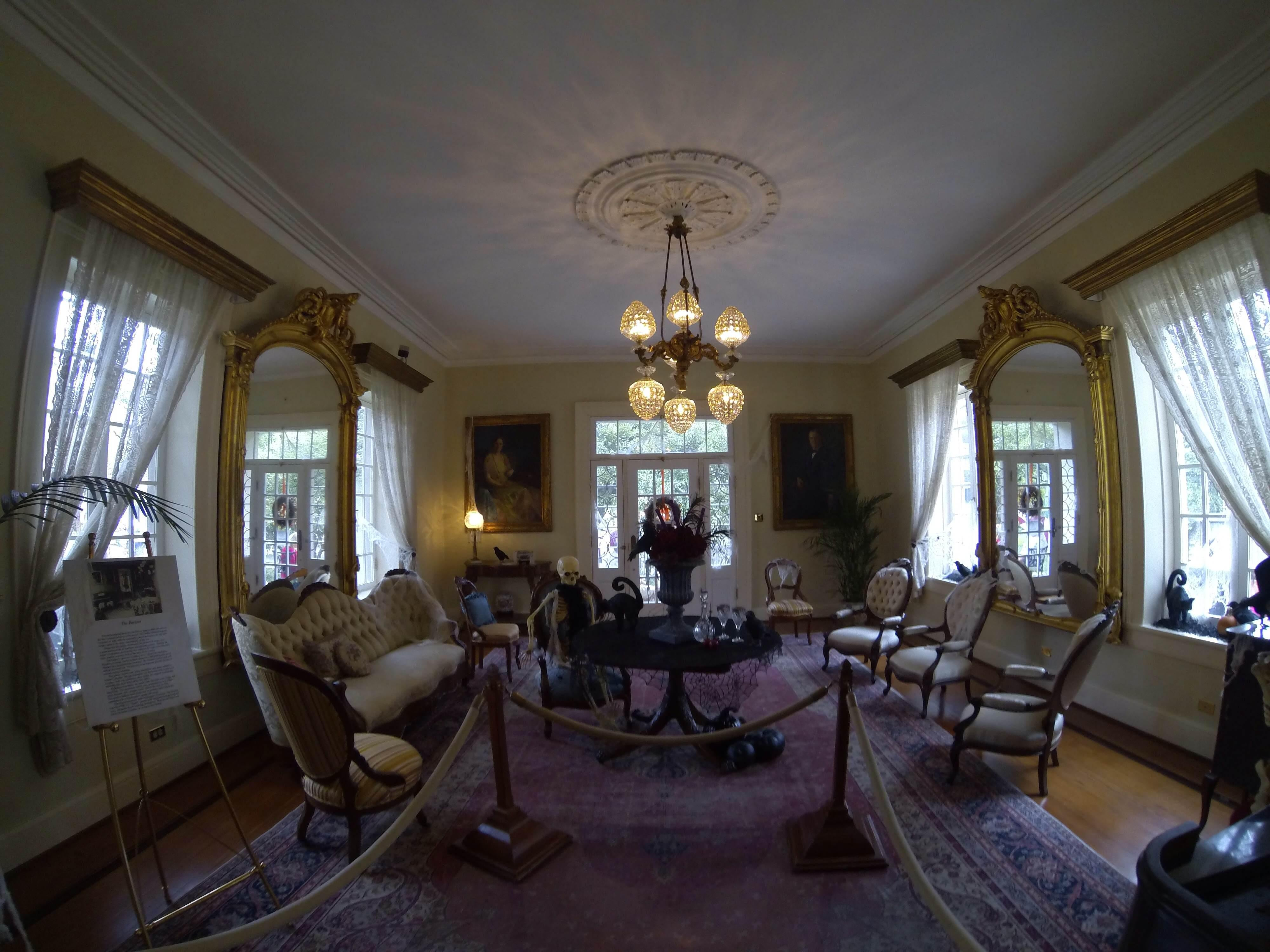 Sala en The Guenther House
