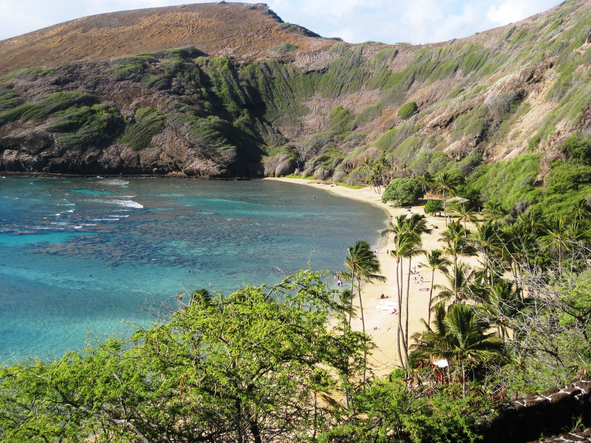 Playa en Hanauma Bay