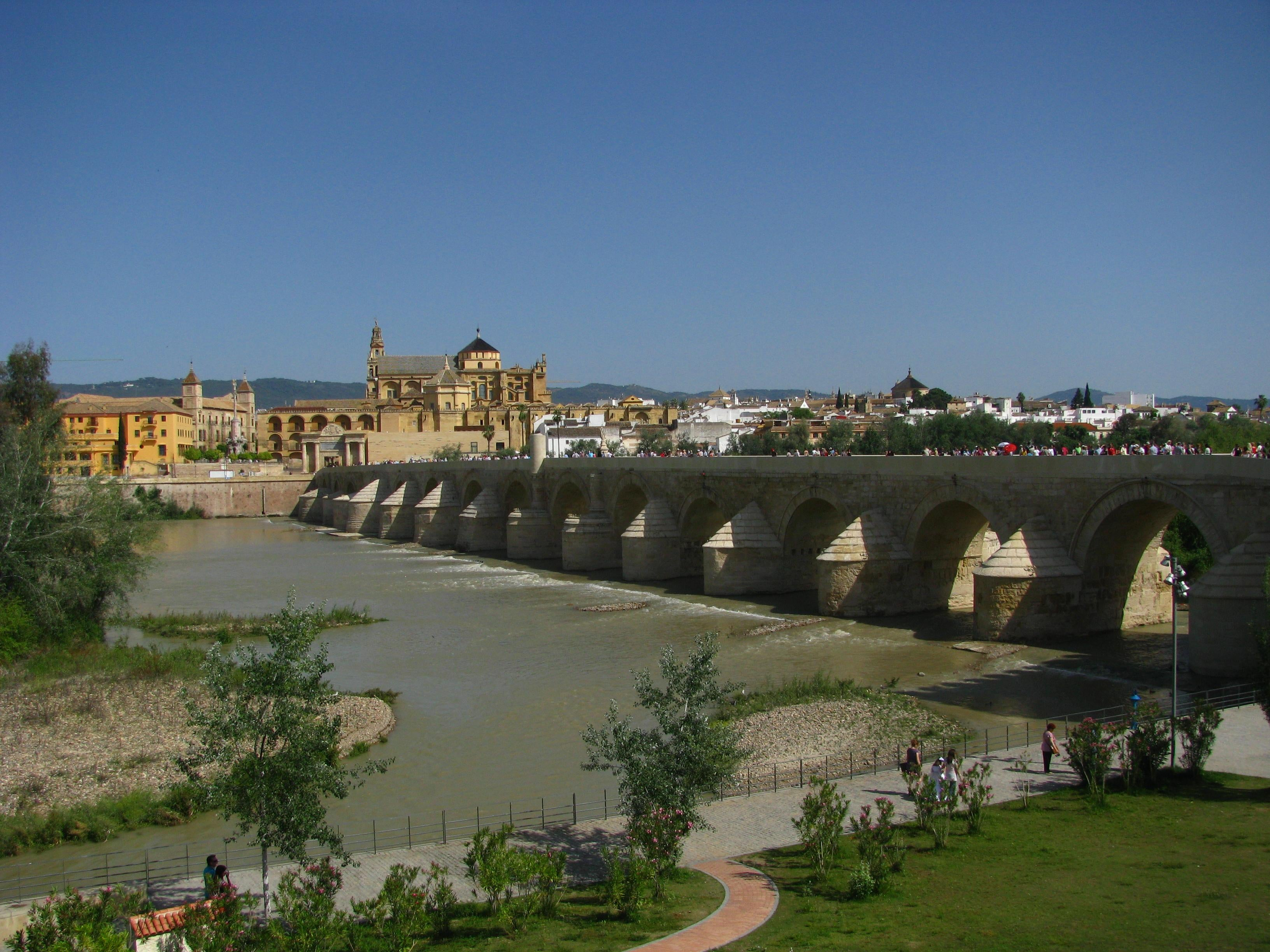 Palace in Roman Bridge of Córdoba