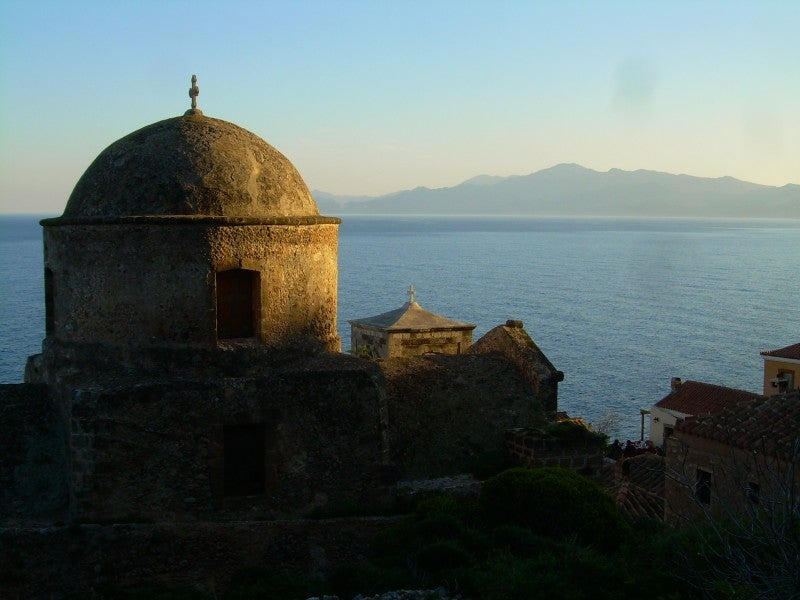 Costa en Monemvasia