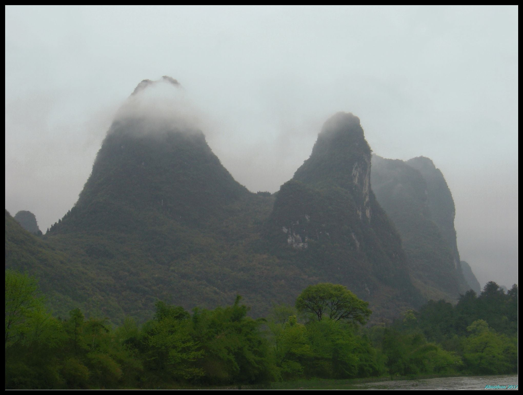 Colina en Guilin