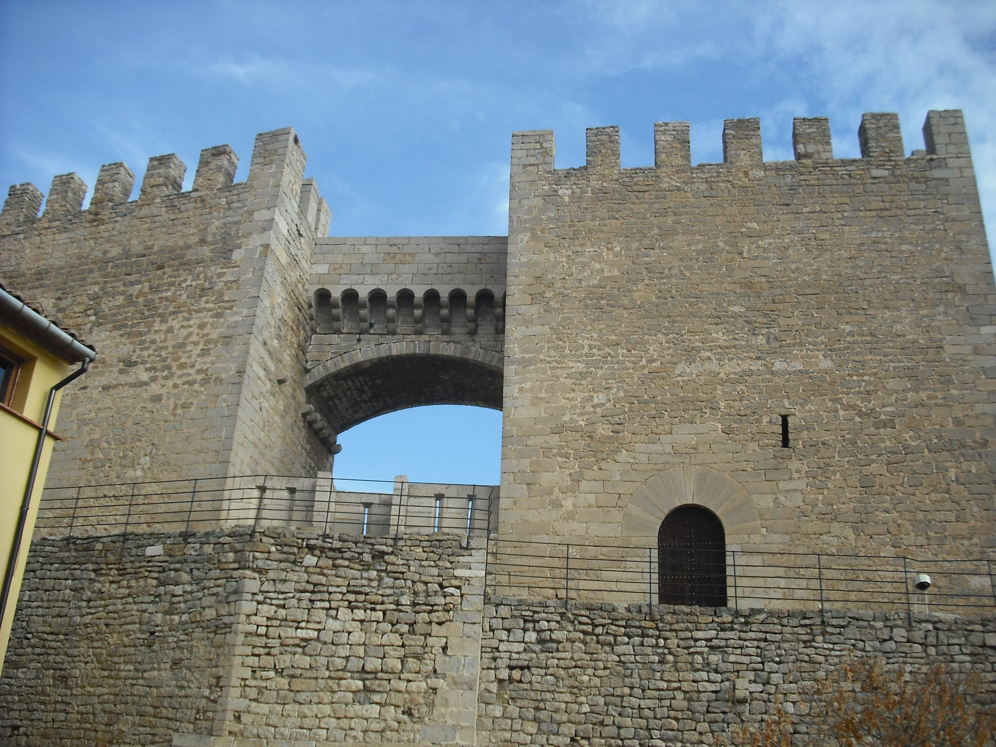 Pared en Castillo de Morella