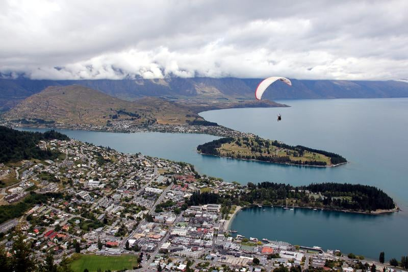 Bahía en Skyline Queenstown