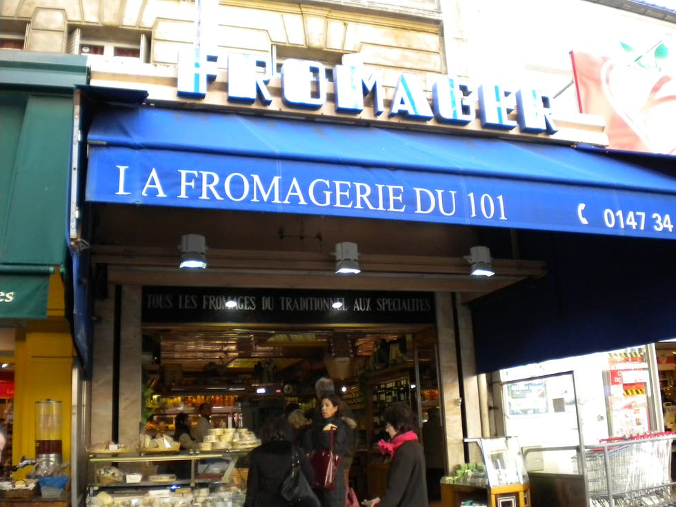 la fromagerie du 101 paris 1 exp riences et 2 photos. Black Bedroom Furniture Sets. Home Design Ideas