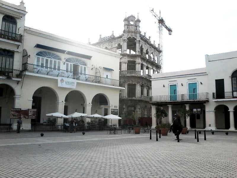 Patio en Plaza Vieja