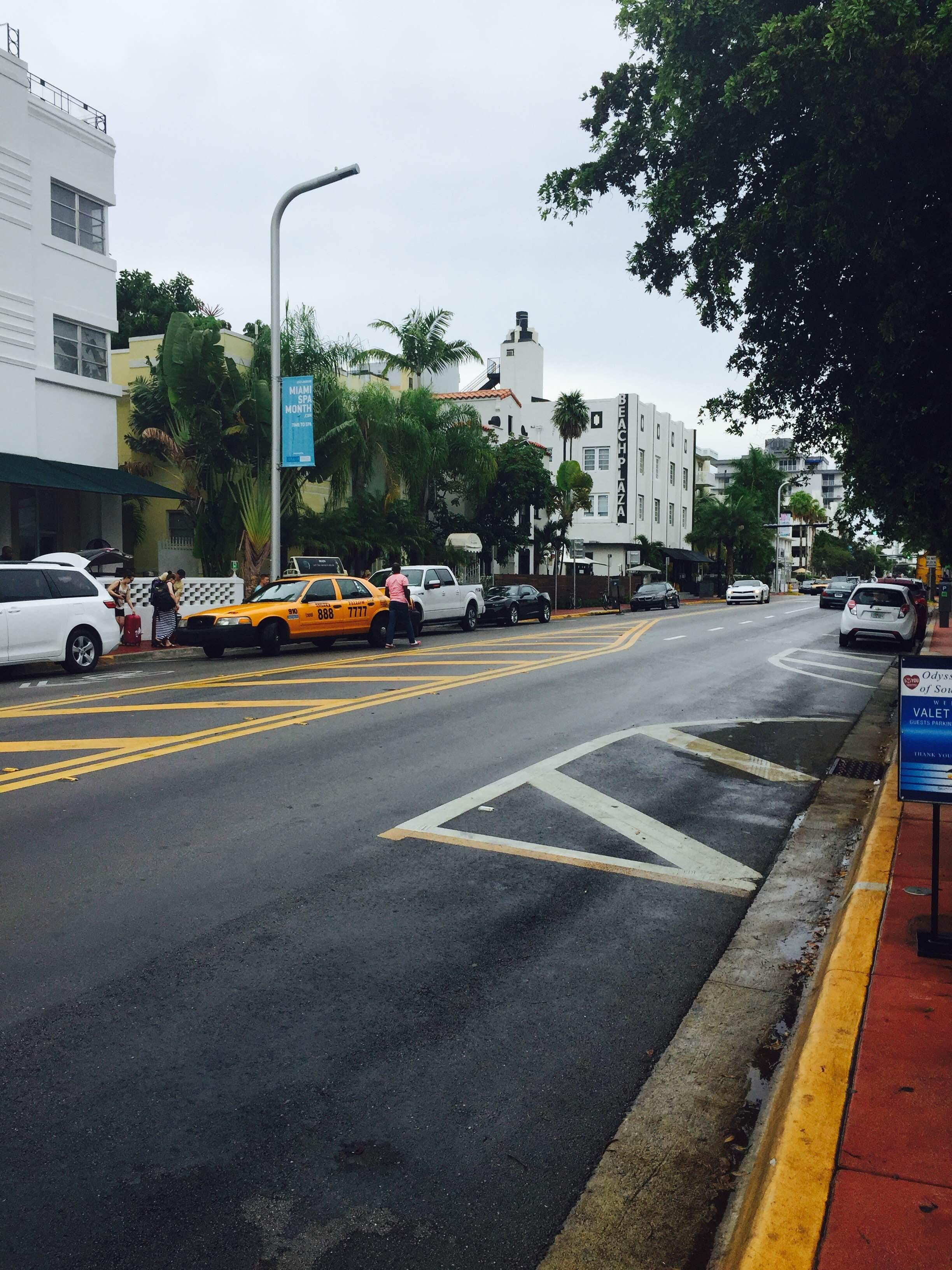 Carril en South Beach