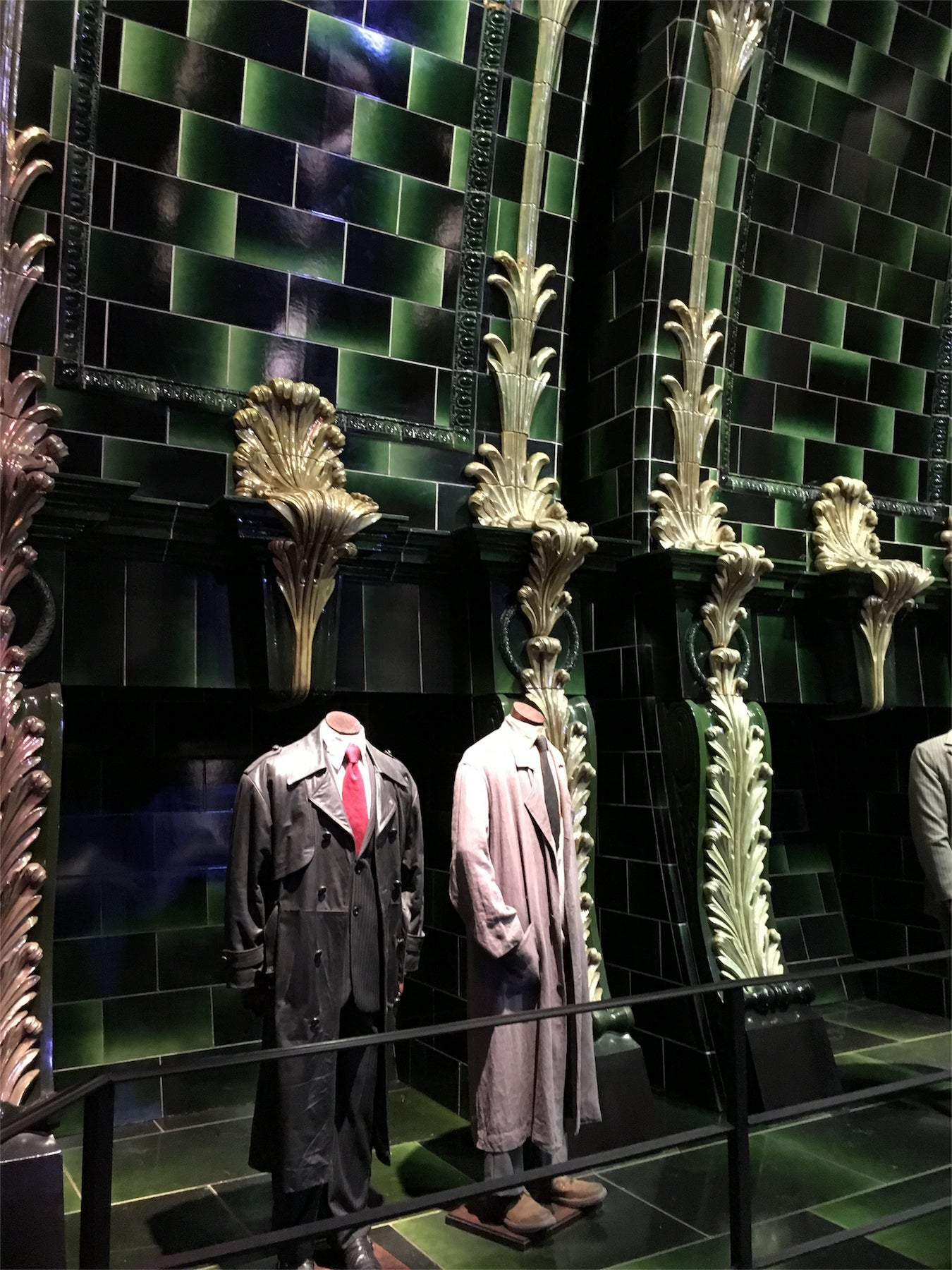 Escaparate en The Making of Harry Potter