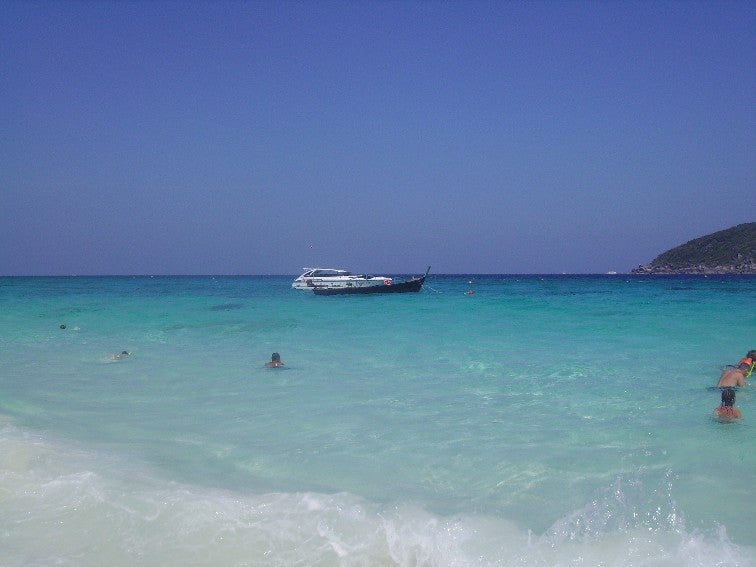 Martini vodka en Islas Similan