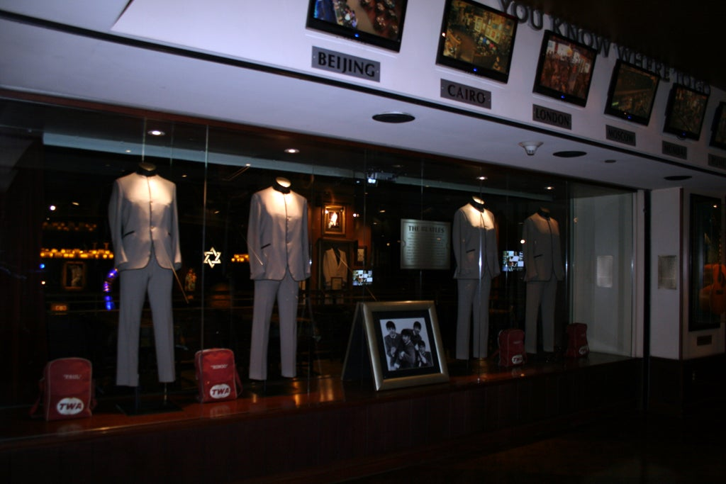Transporte en Hard Rock Café (Nueva York)