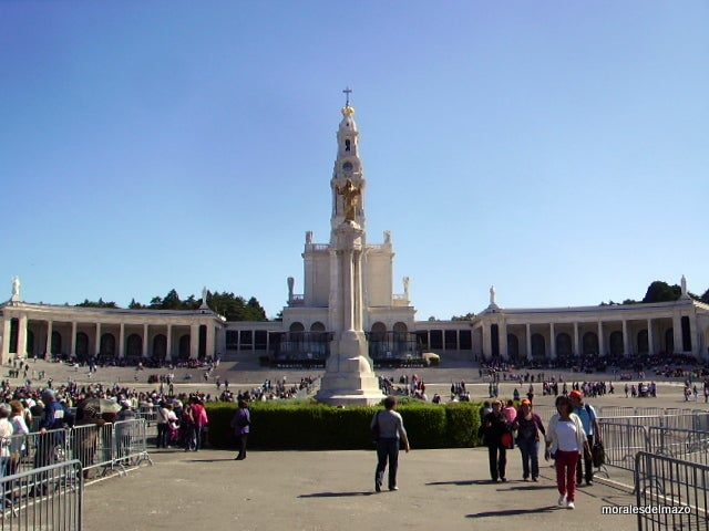 Mausoleum in Basilica of Our Lady of the Rosary of Fatima