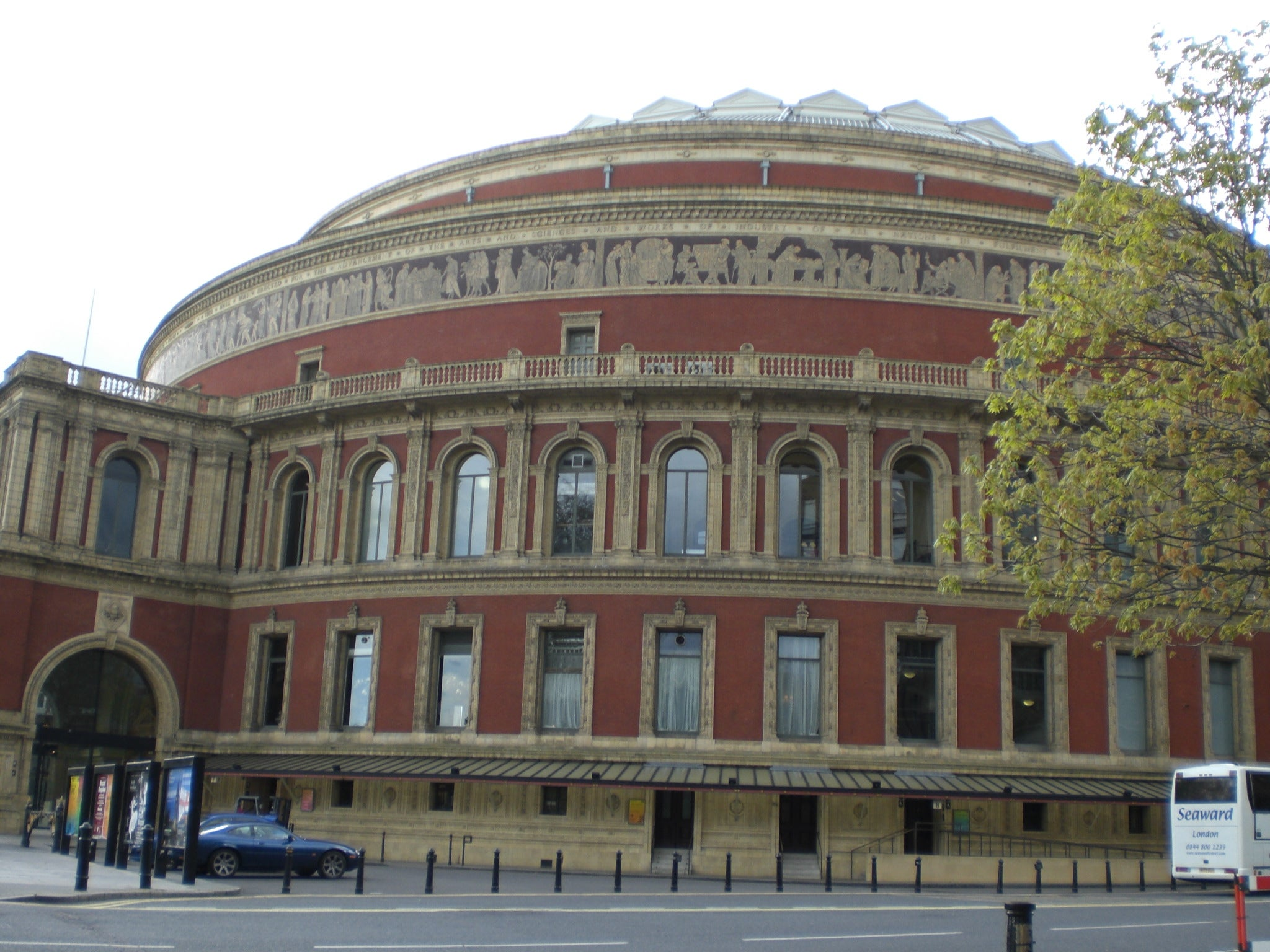 Bautisterio en Royal Albert Hall