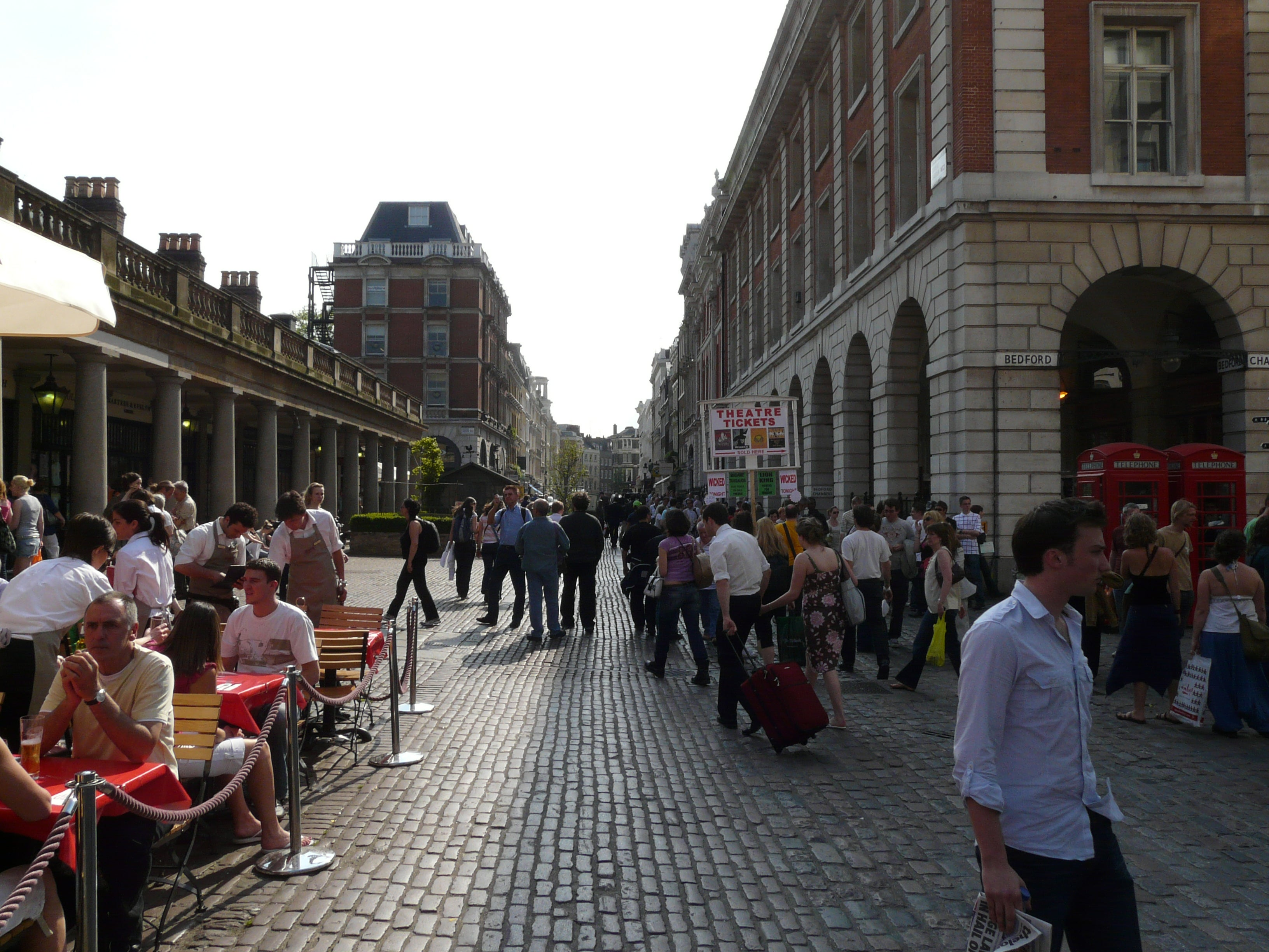 Pueblo en Covent Garden