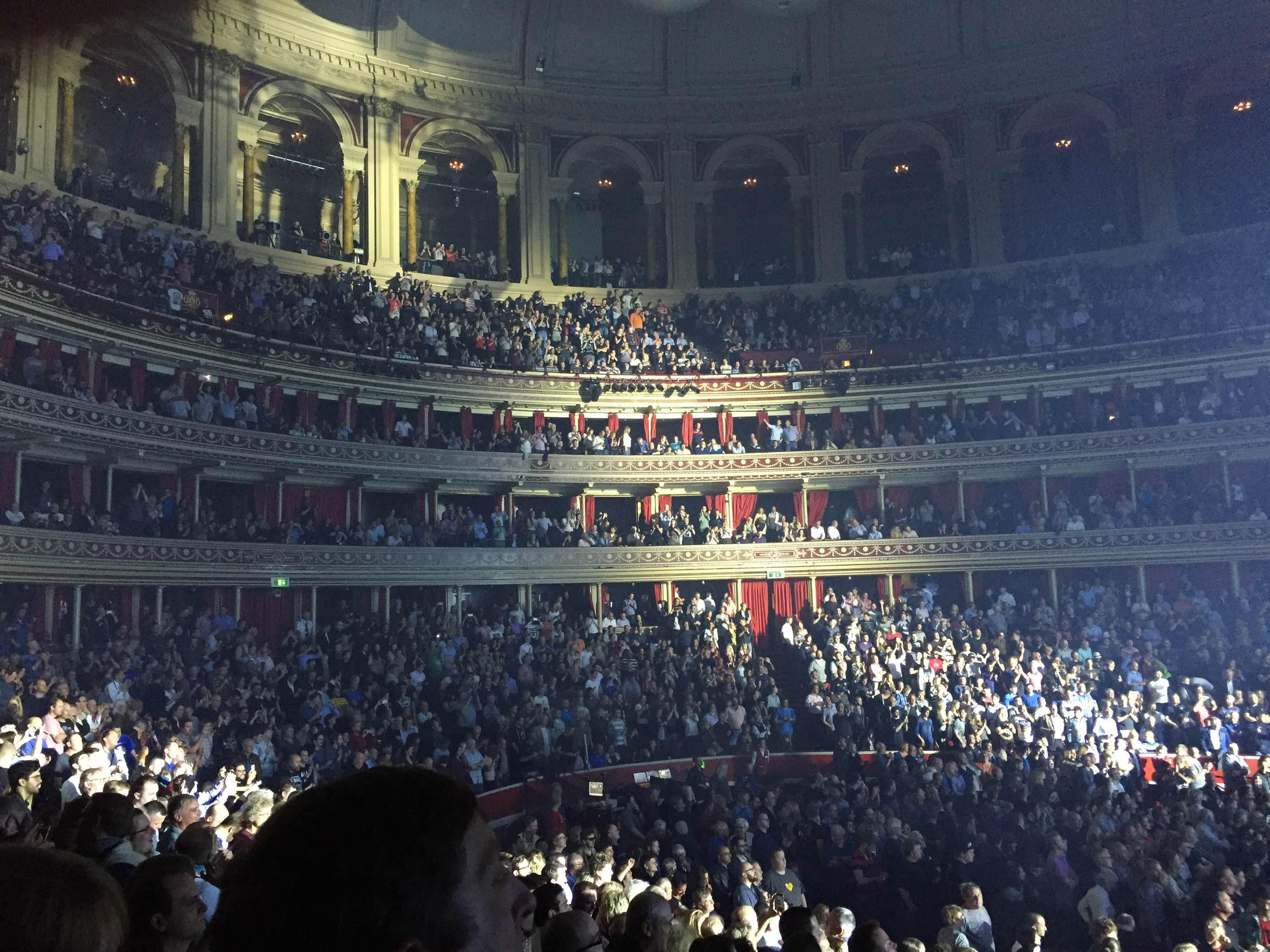 Músico en Royal Albert Hall