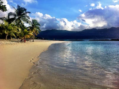 Sainte Anne Marine National Park