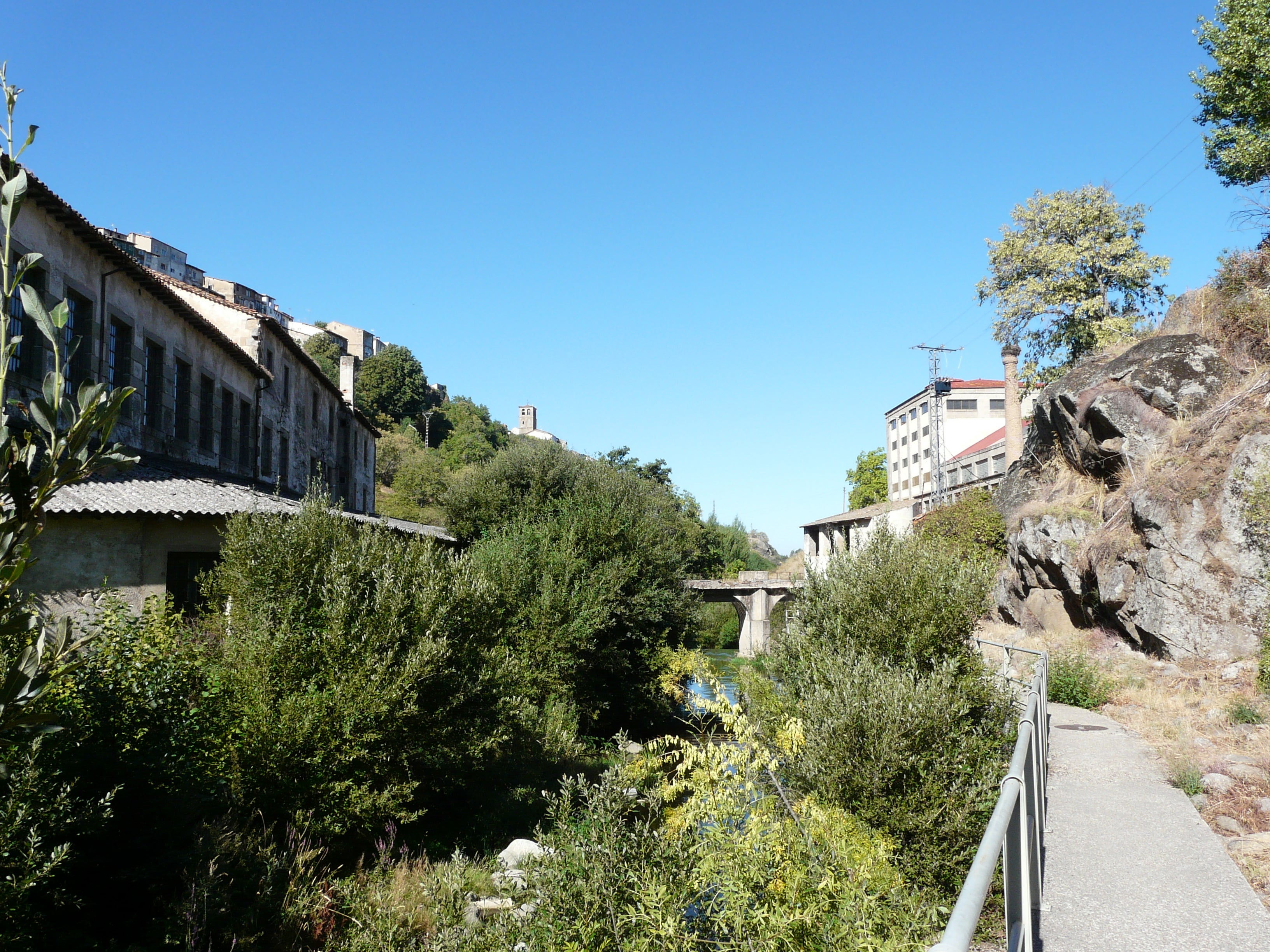 Route of the old textile factories of bejar