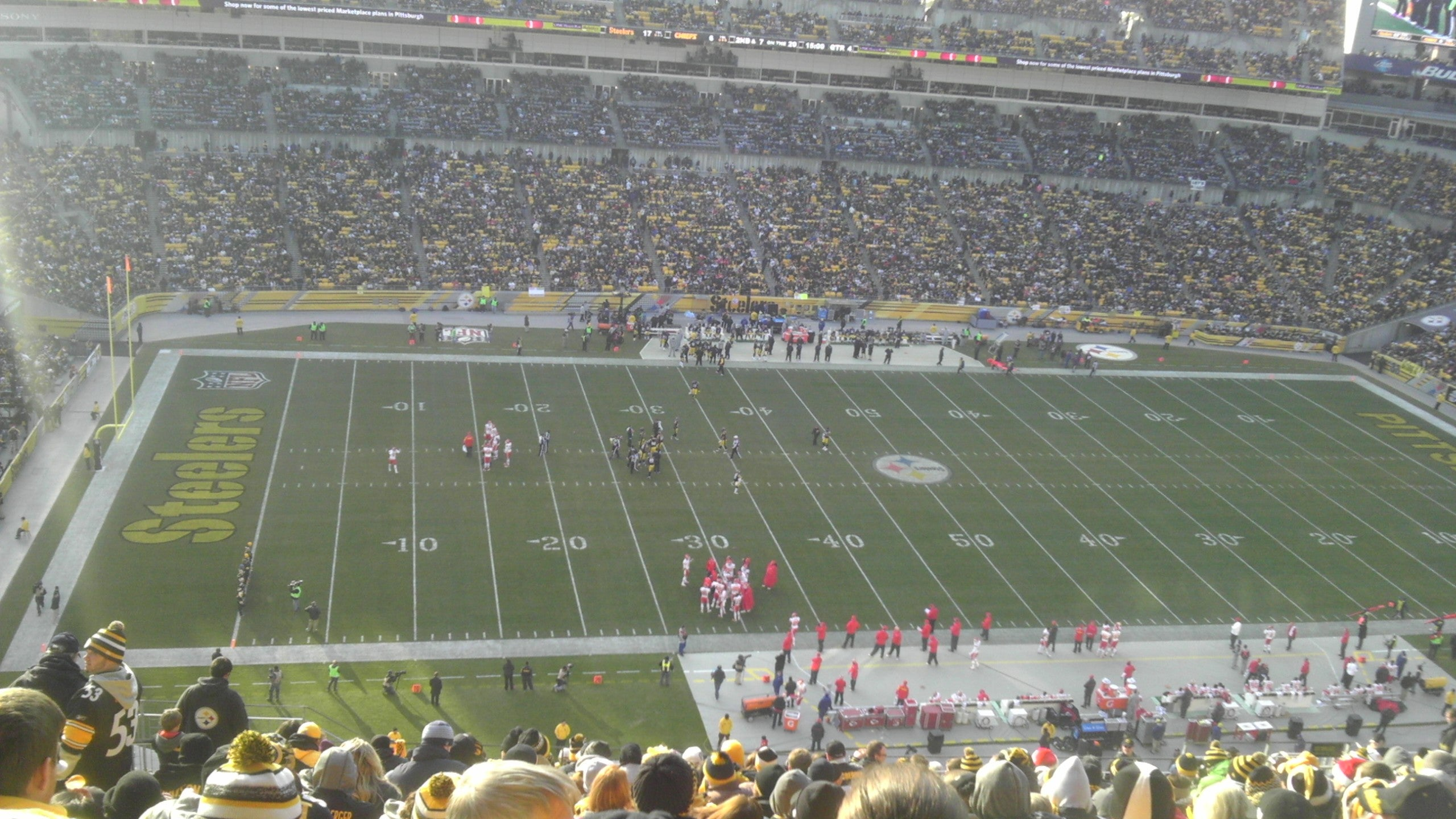 Carrera de coches en Heinz Field
