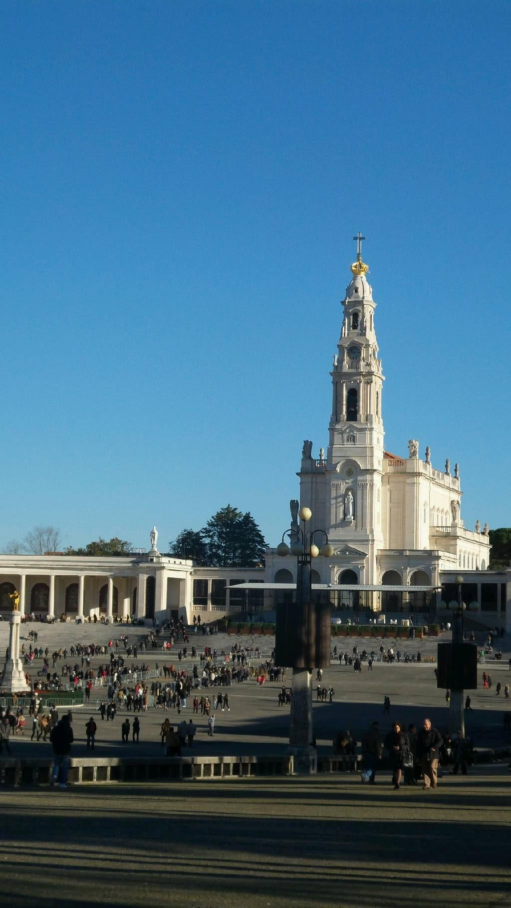 City in Basilica of Our Lady of the Rosary of Fatima