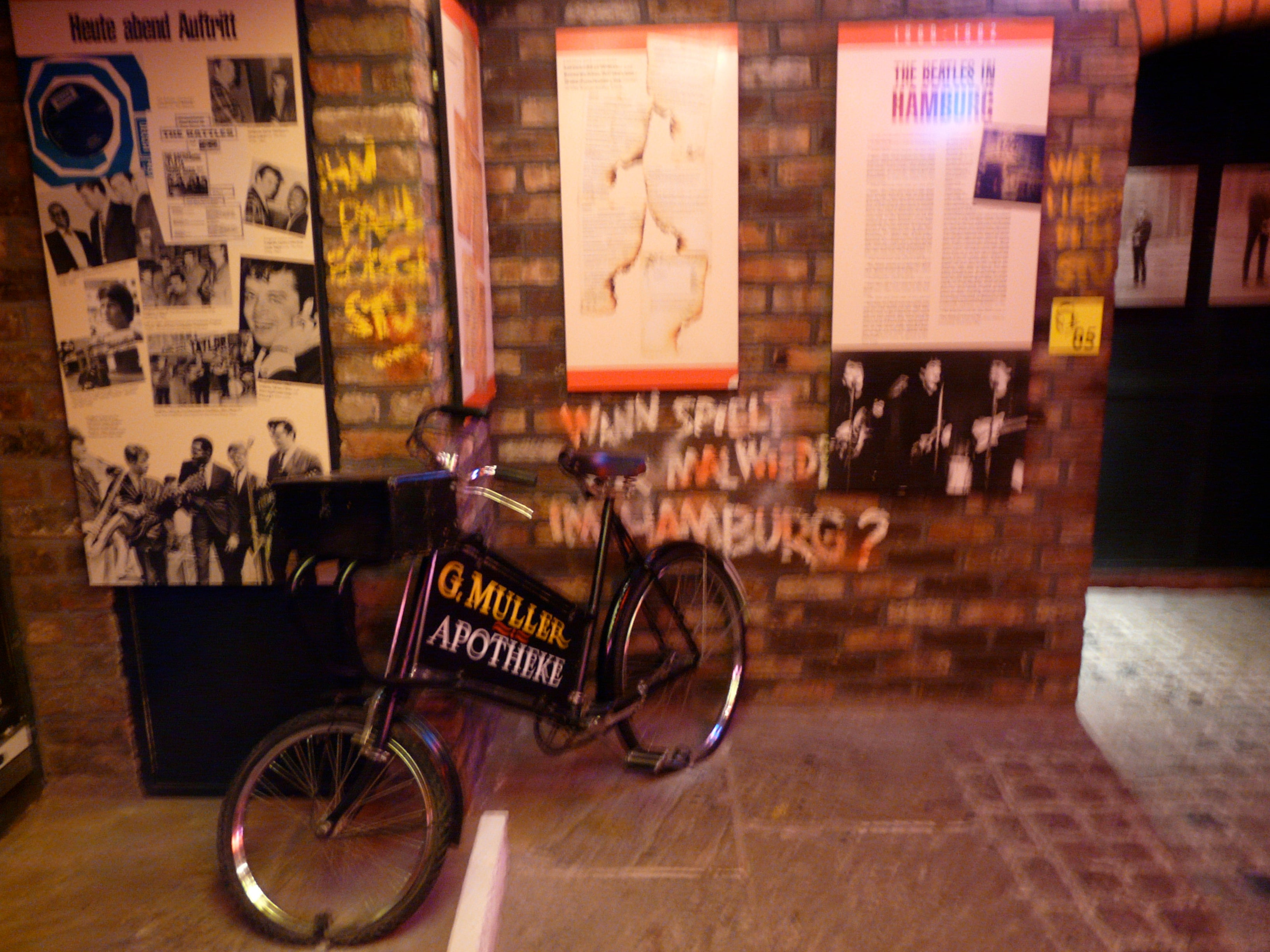 Bicicleta en The Beatles Story