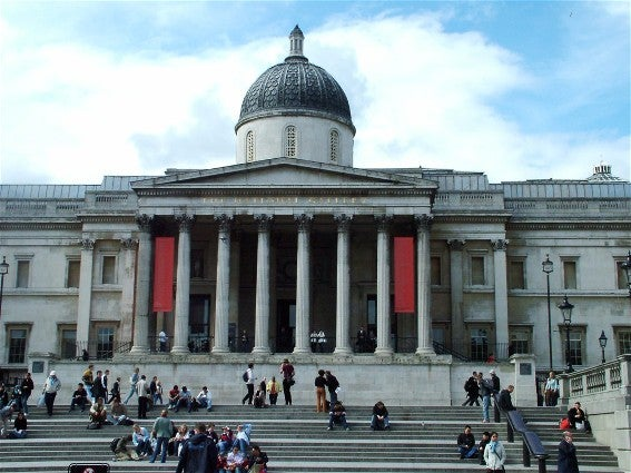 Edificio en National Gallery