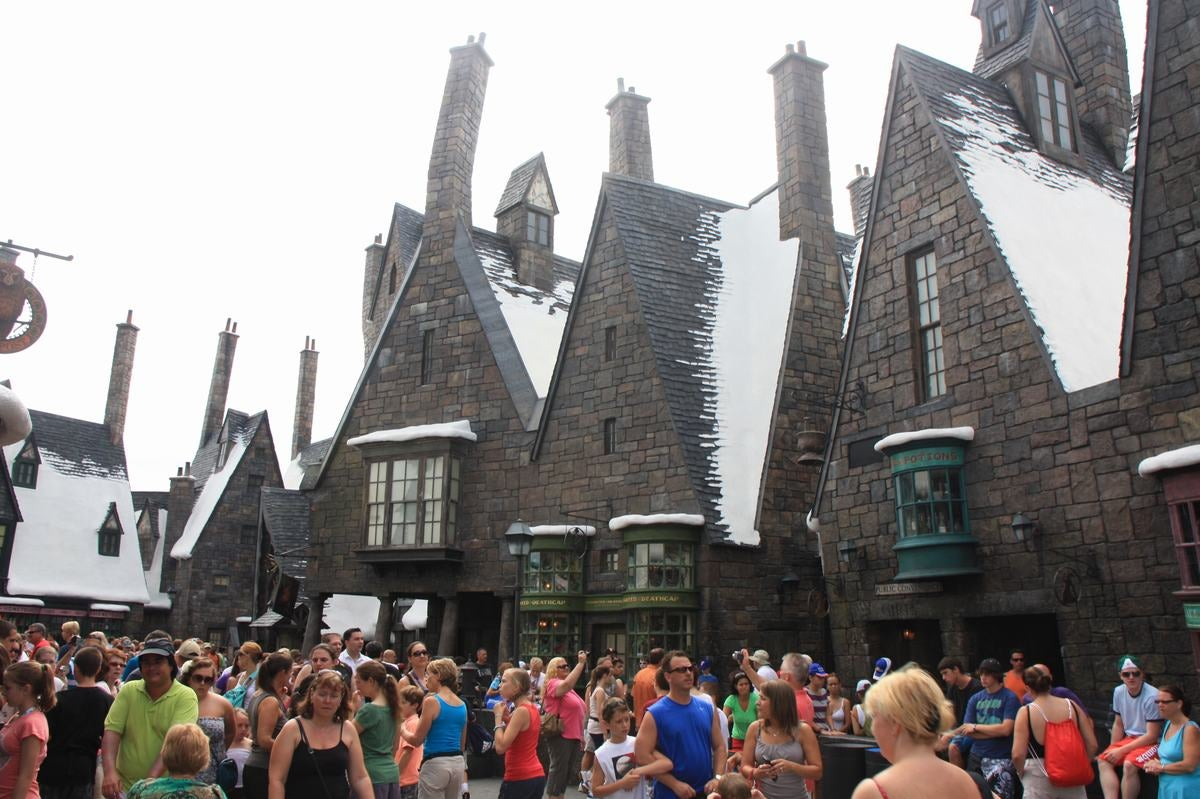 Atletismo en The Wizarding World of Harry Potter