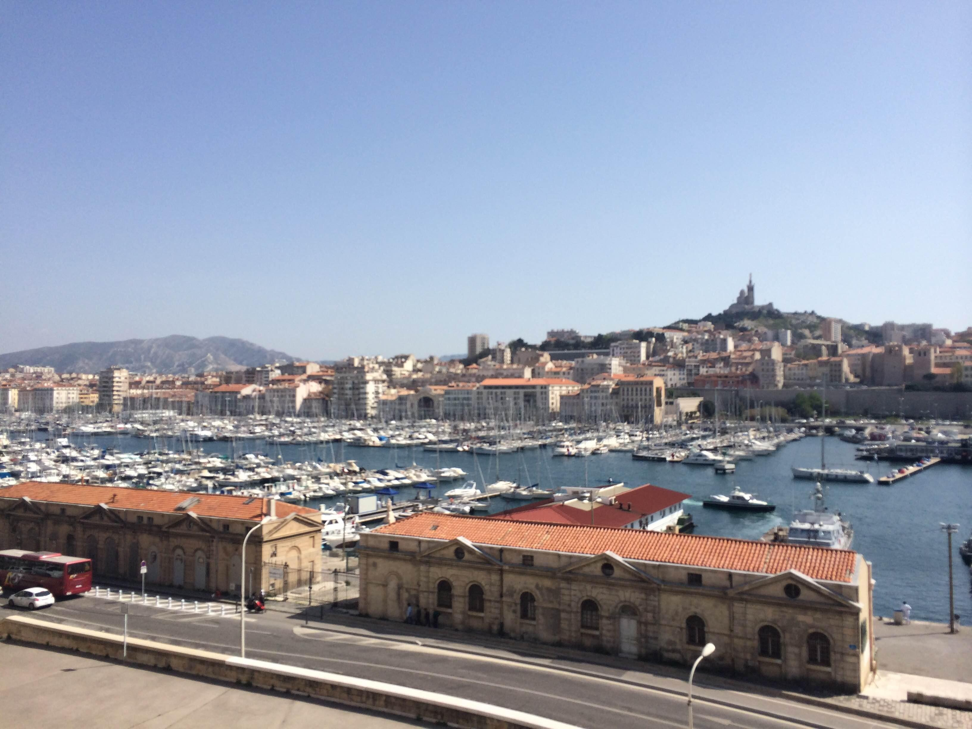 Town in Port of Marseille