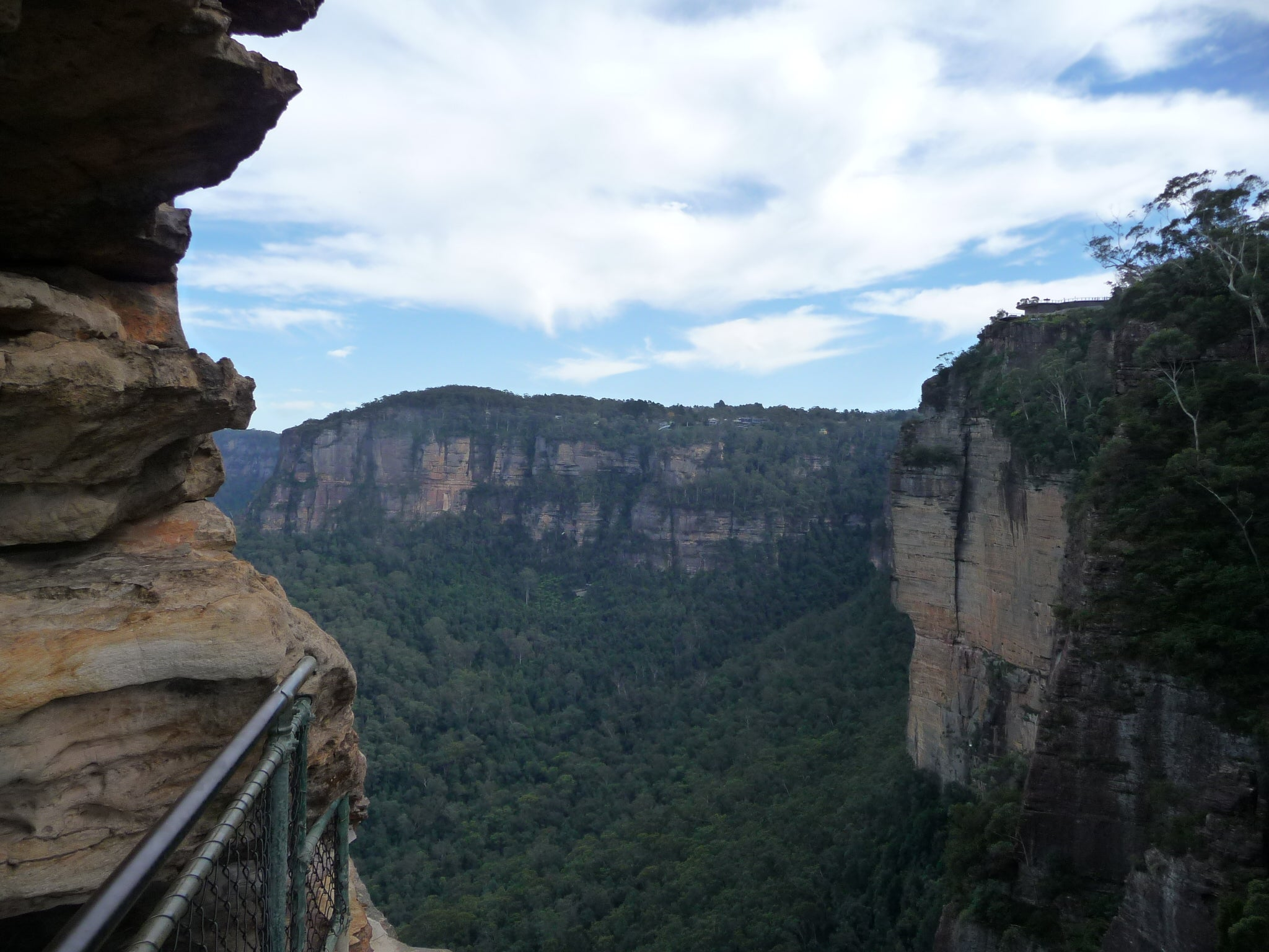 Puente en Parque nacional Blue Mountains