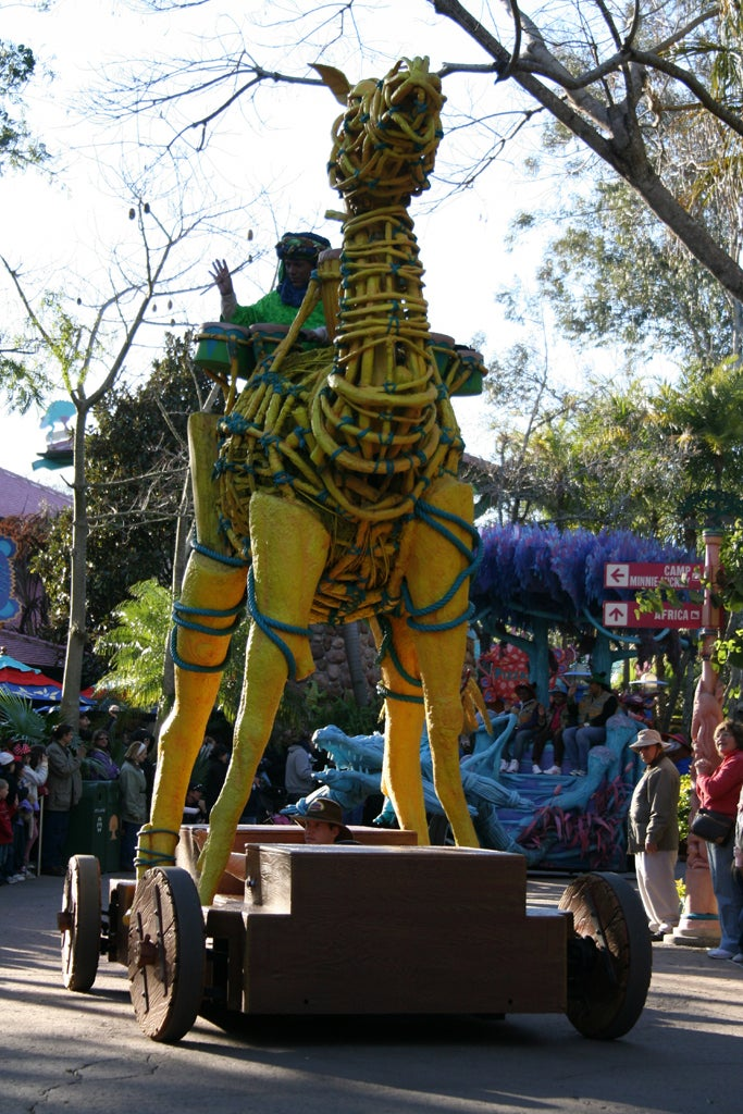 Monumento en Disney Animal Kingdom