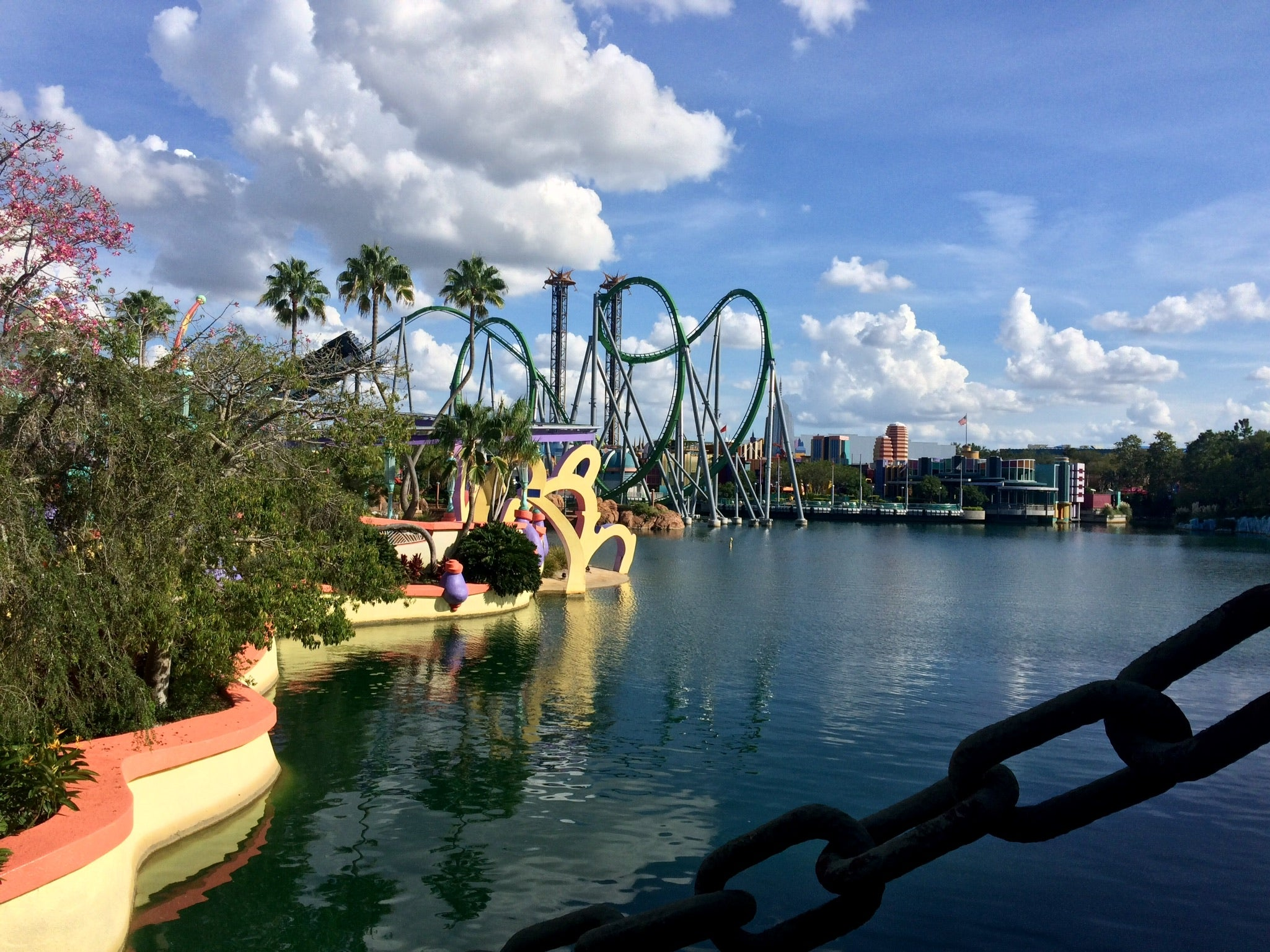 Canal en Islands of Adventure