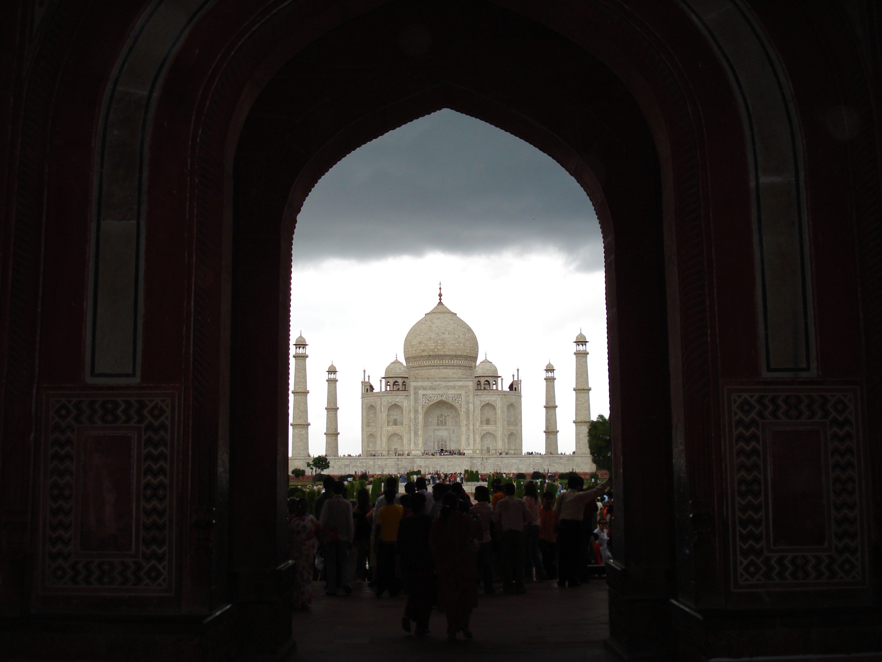 Abadía en Taj Mahal