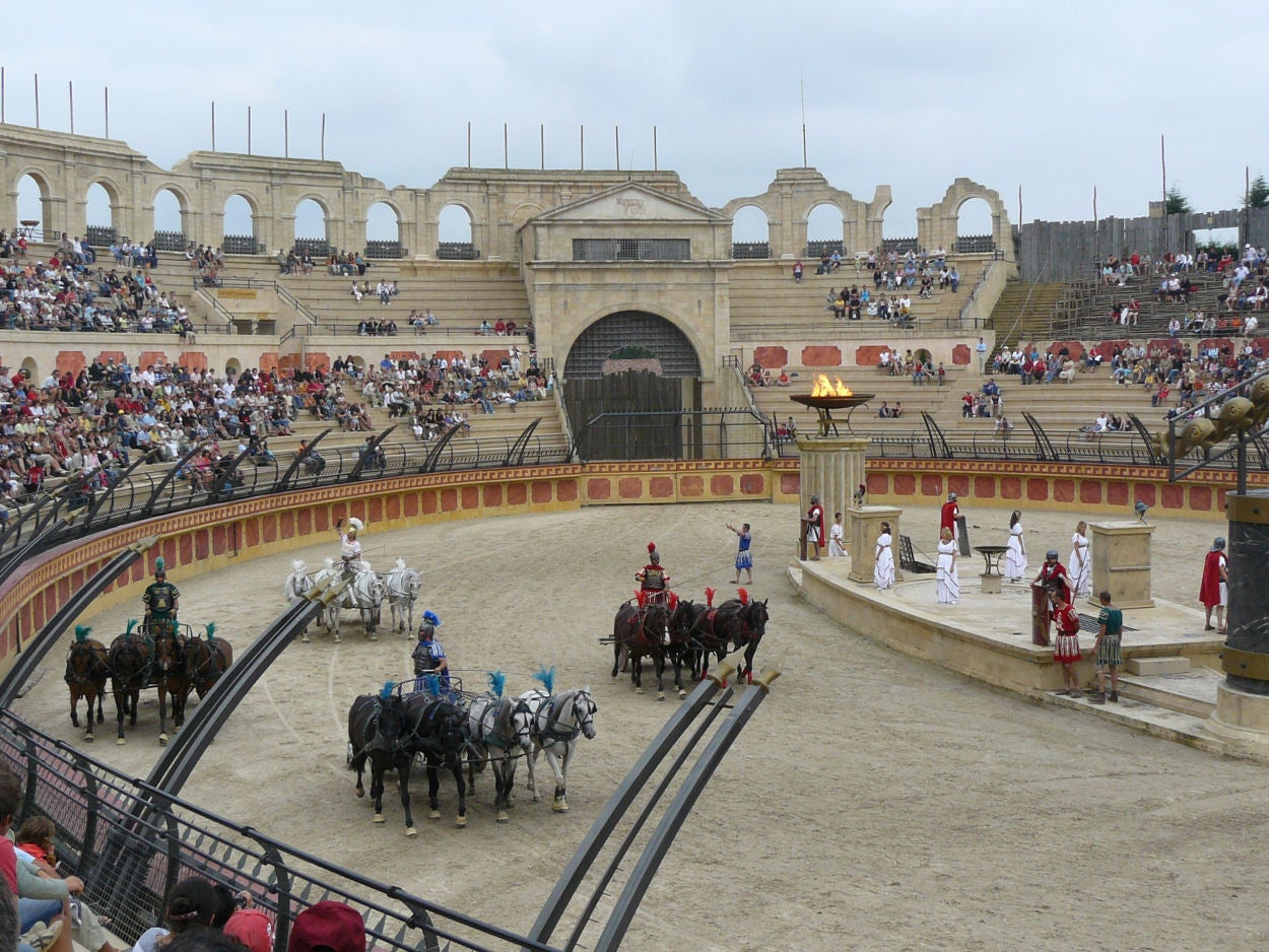 Estadio en Puy du Fou