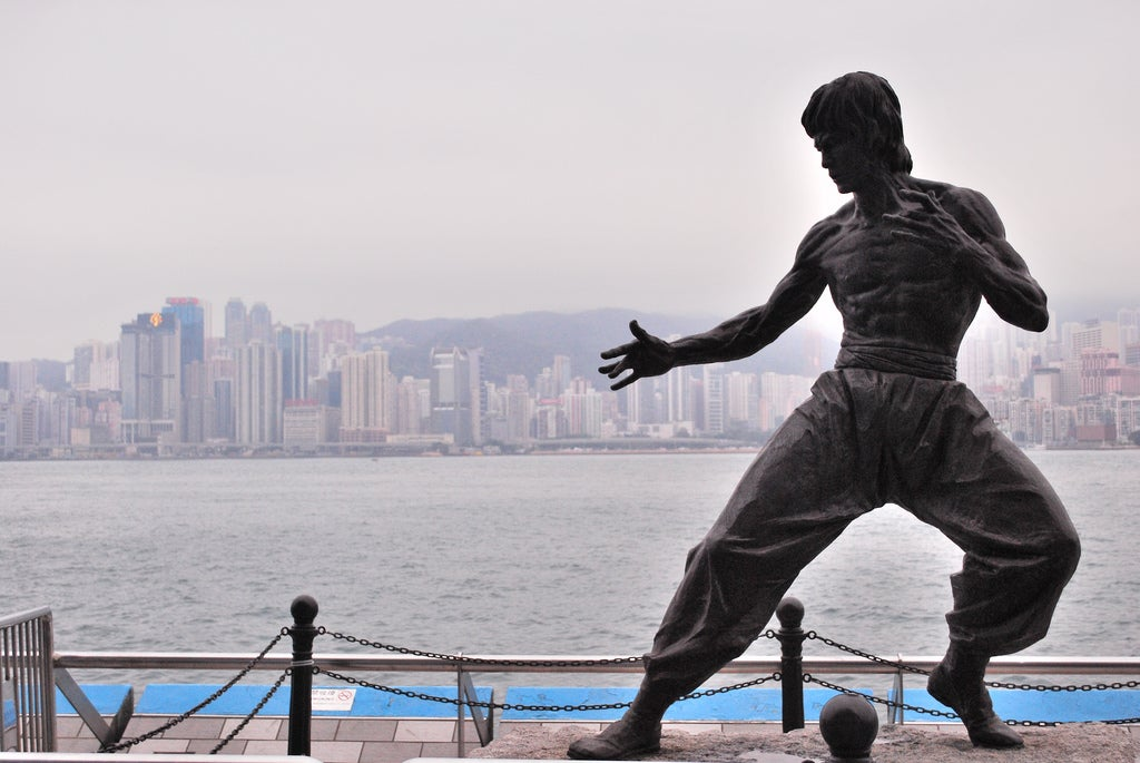 Monument to Bruce Lee