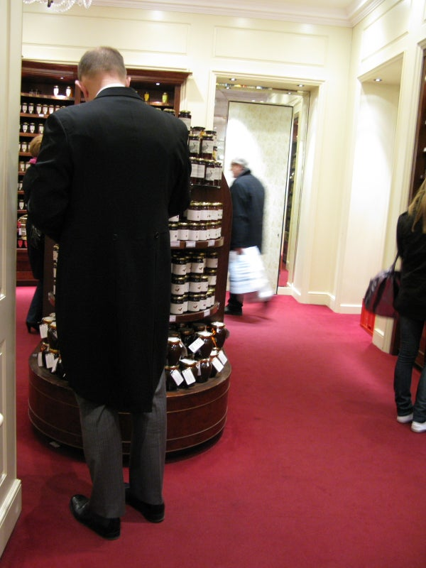 Ropa en Fortnum and Mason