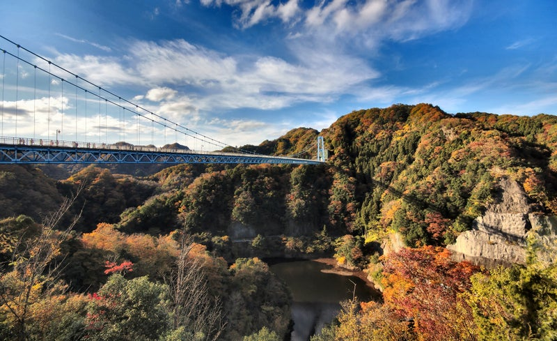 Ryujin Suspension Bridge