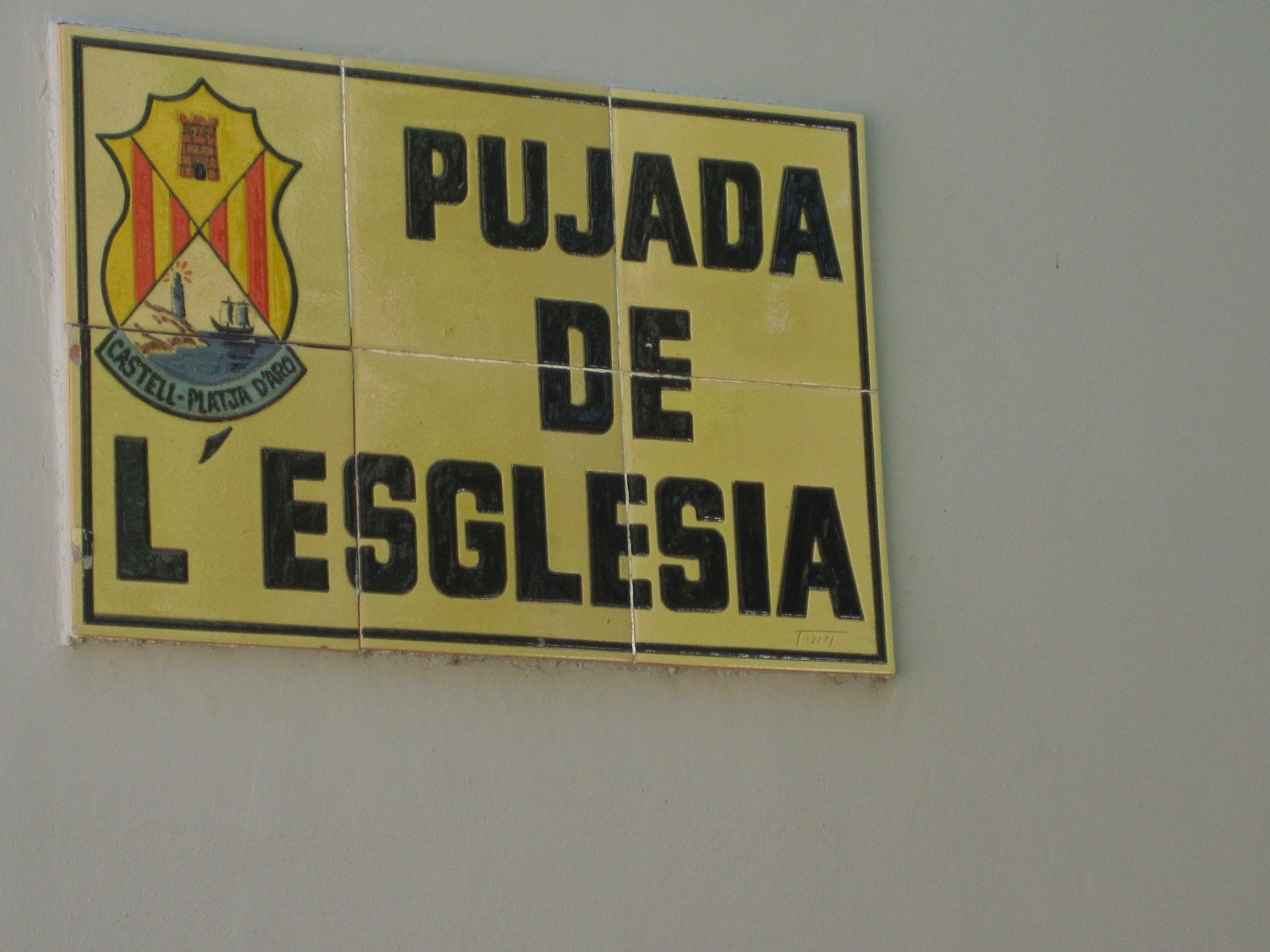 Pujada of the Church (rise of the Church)