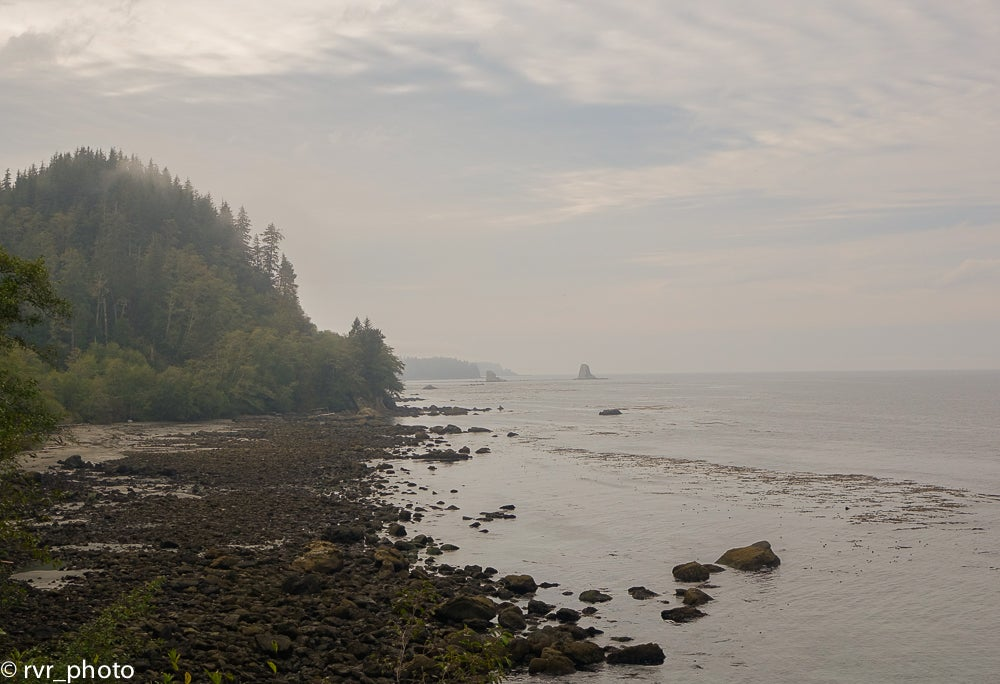 Mar en Cape Flattery Trail
