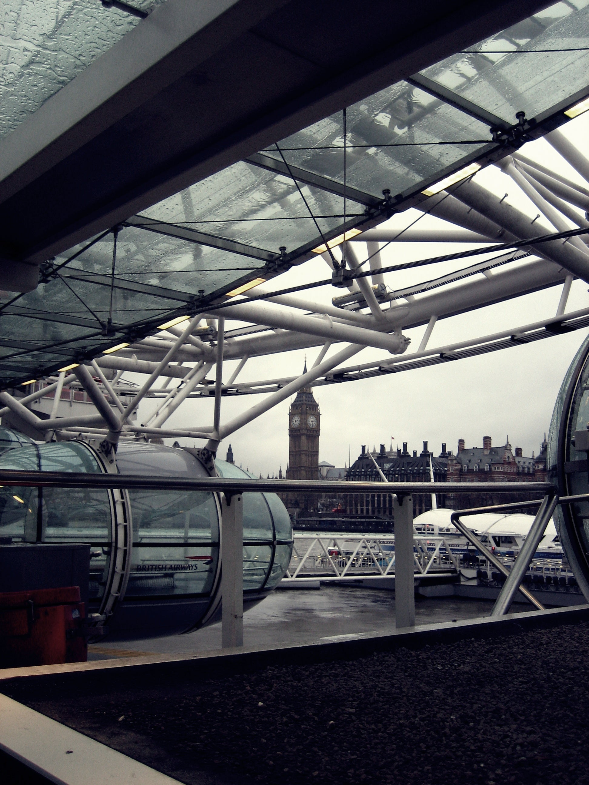 Reflejo en London Eye