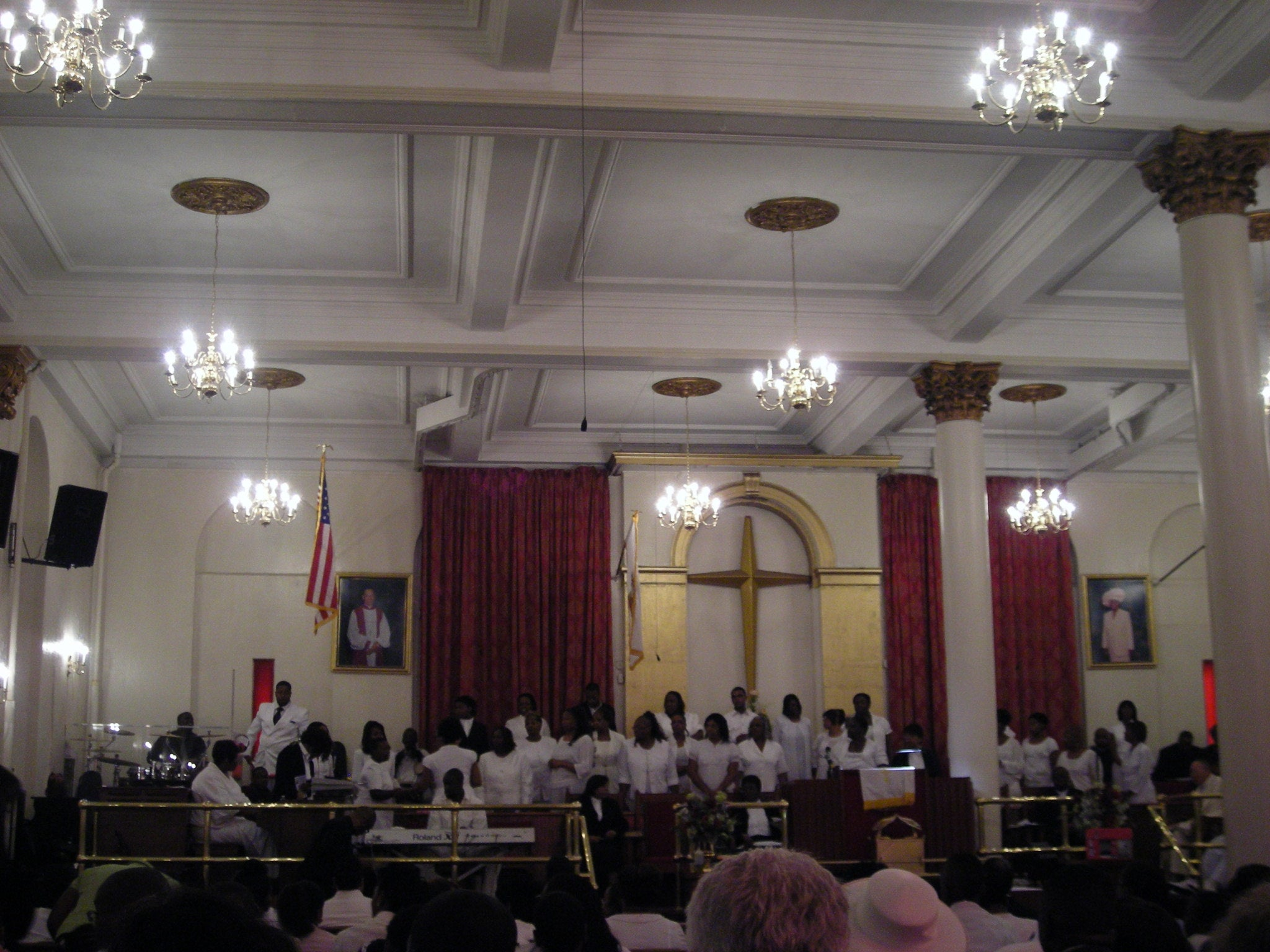 Banquete en Antioch Baptist Church