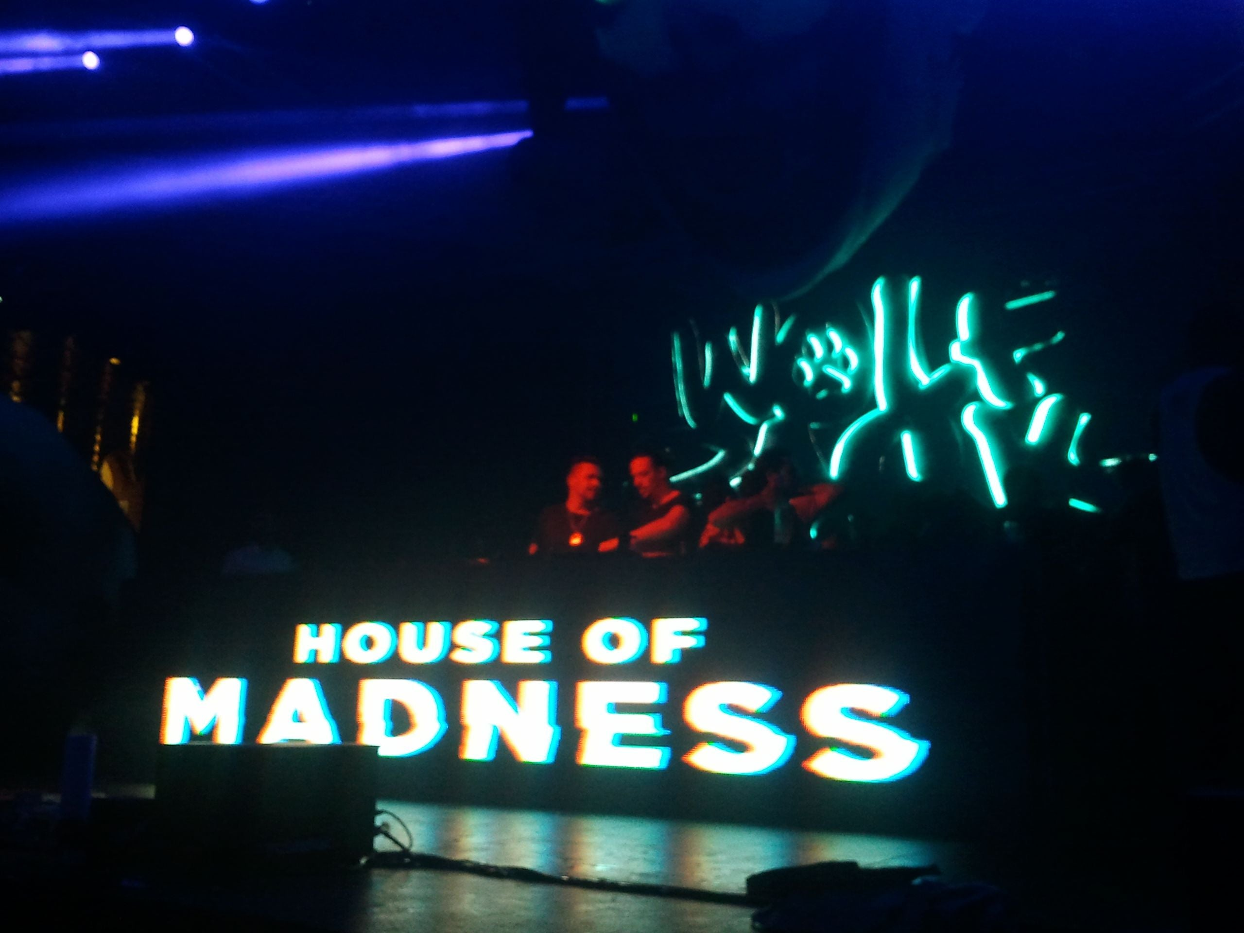 Escenario en House of Madness all'Amnesia