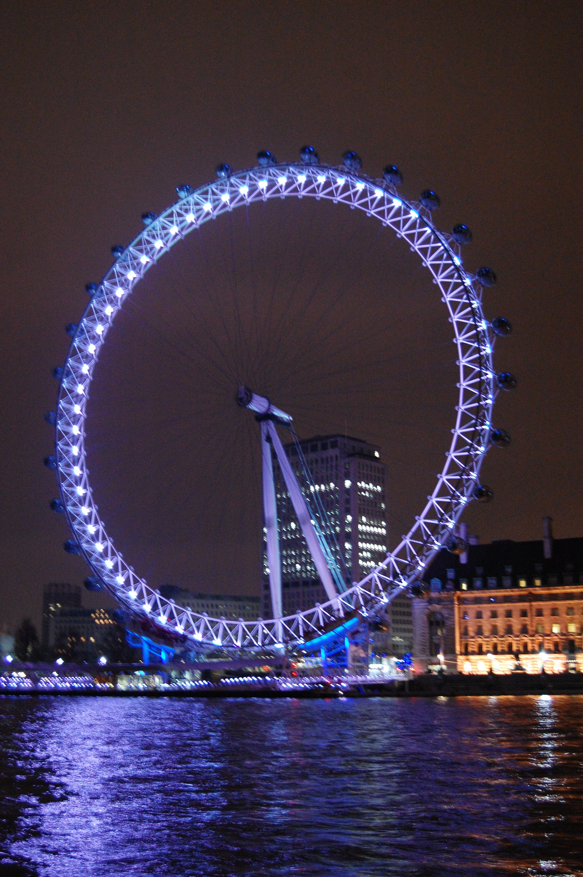 Noche en London Eye