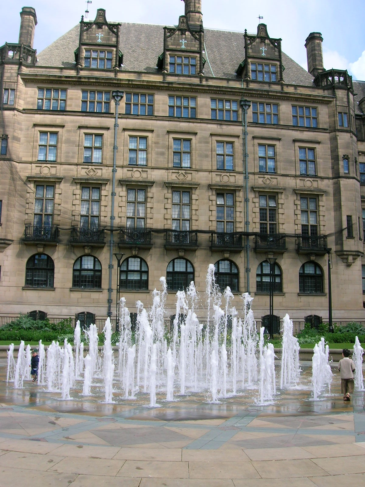 Reflejo en Sheffield
