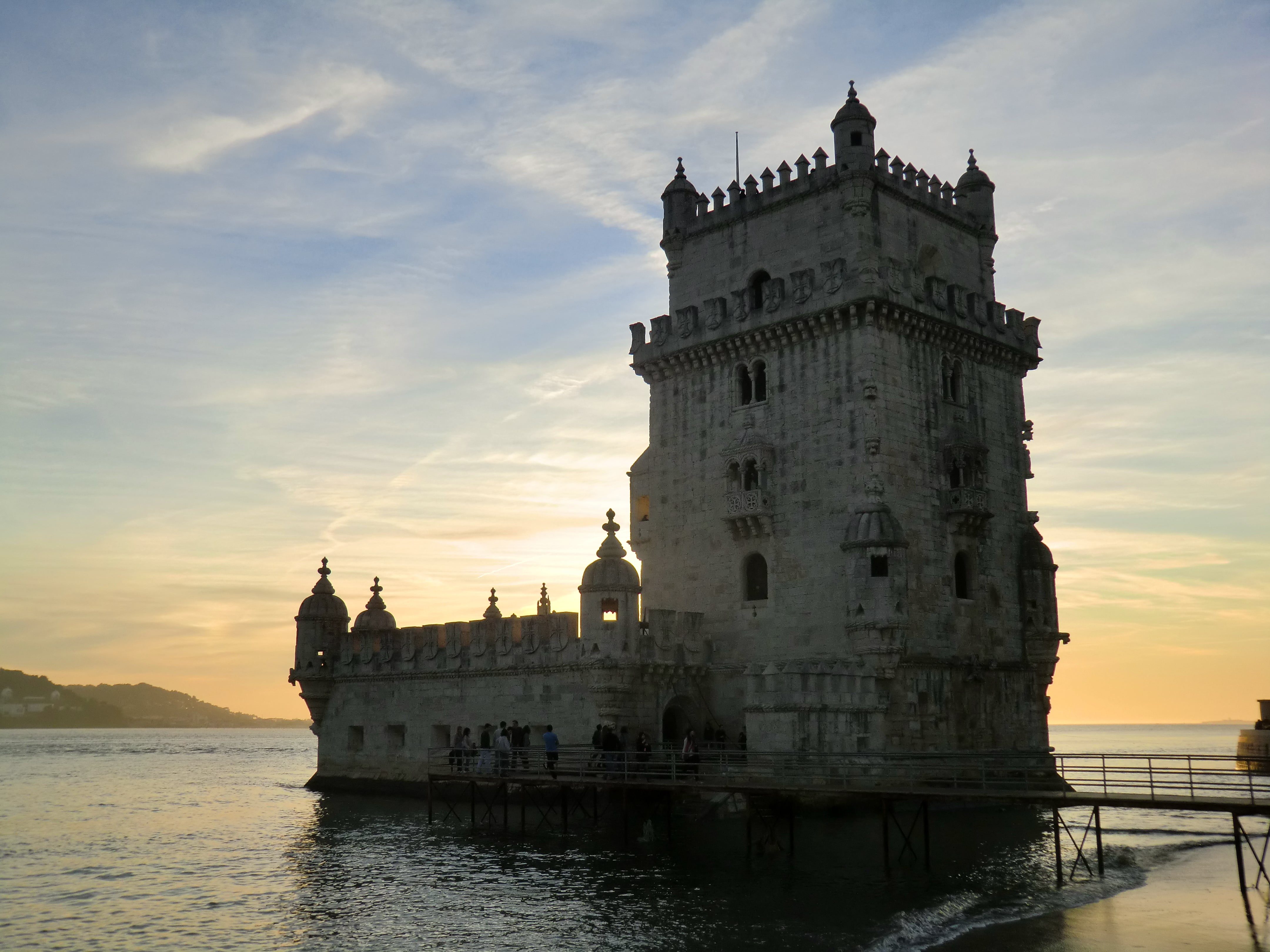 Water Castle in Belém Tower