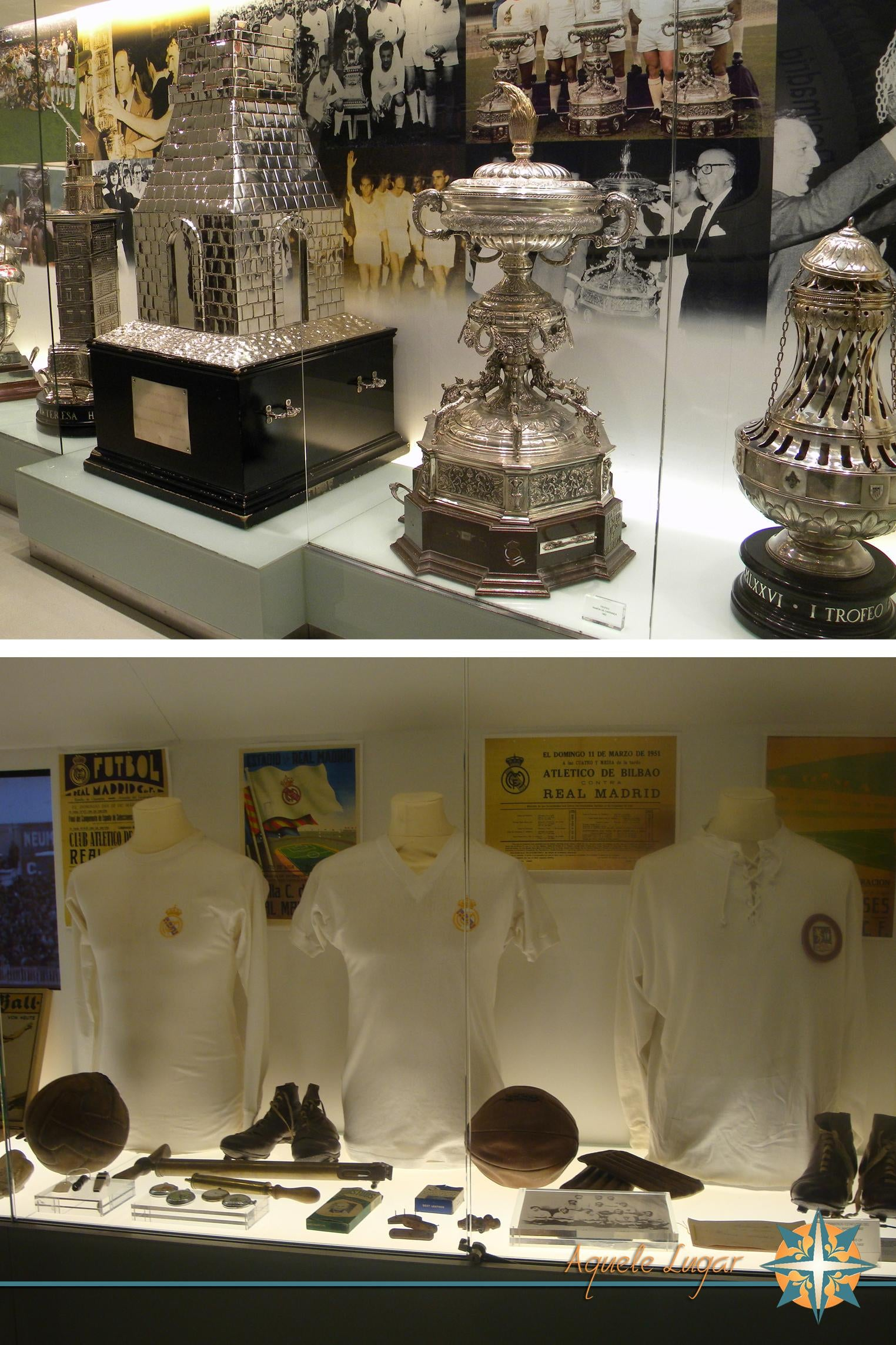 Mineral en Museo Del Real Madrid