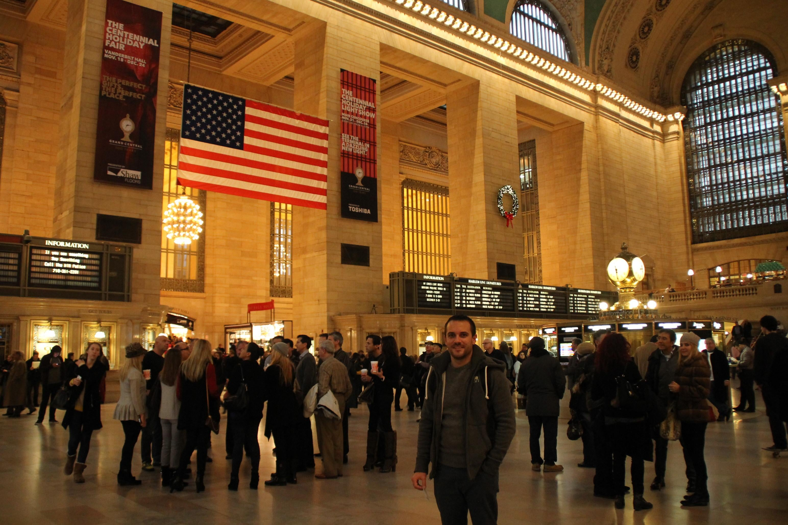 Ciudad en Grand Central Station