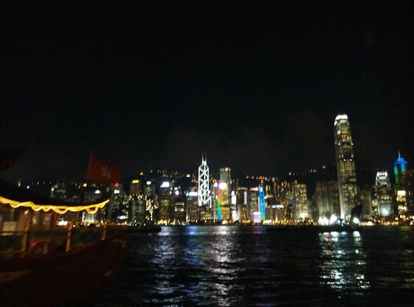 Panorámica en Star Ferry