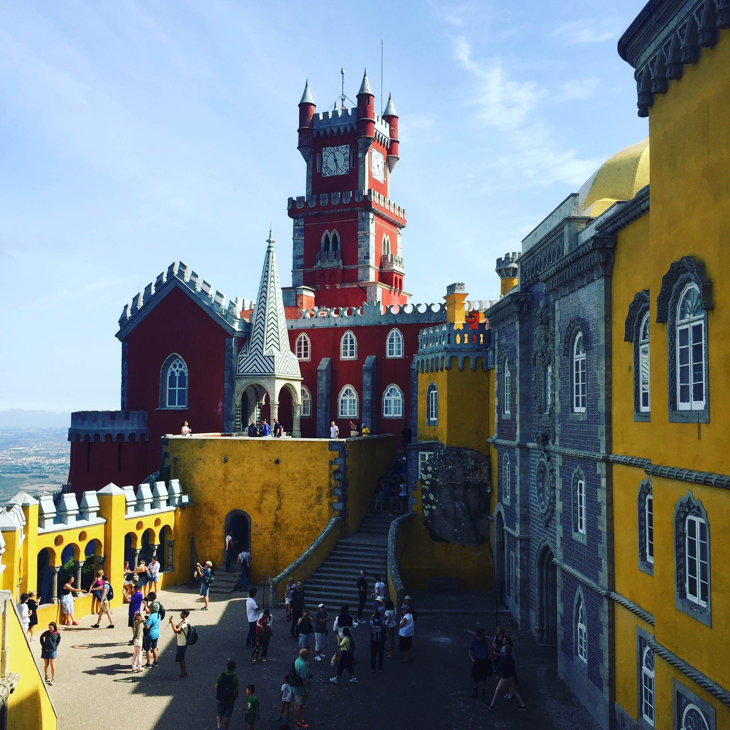 Leisure in Pena National Palace