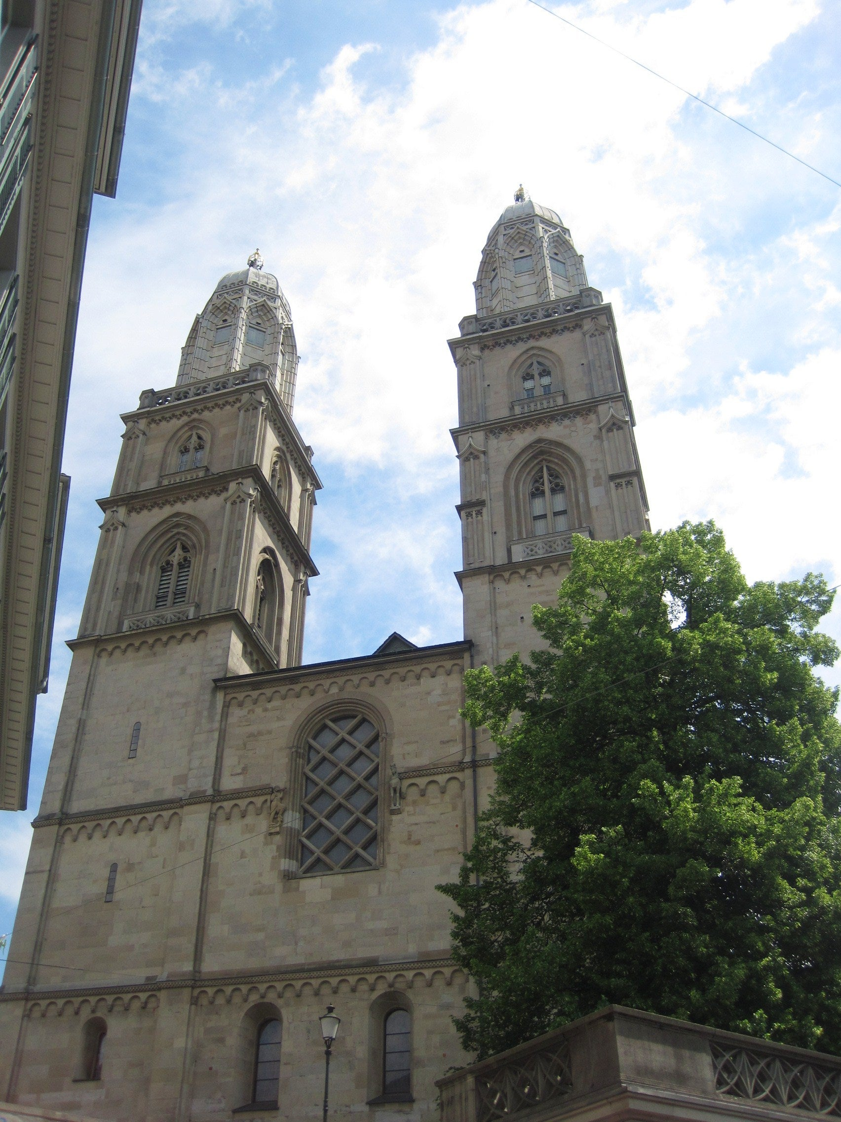 Edificio en Grossmünster