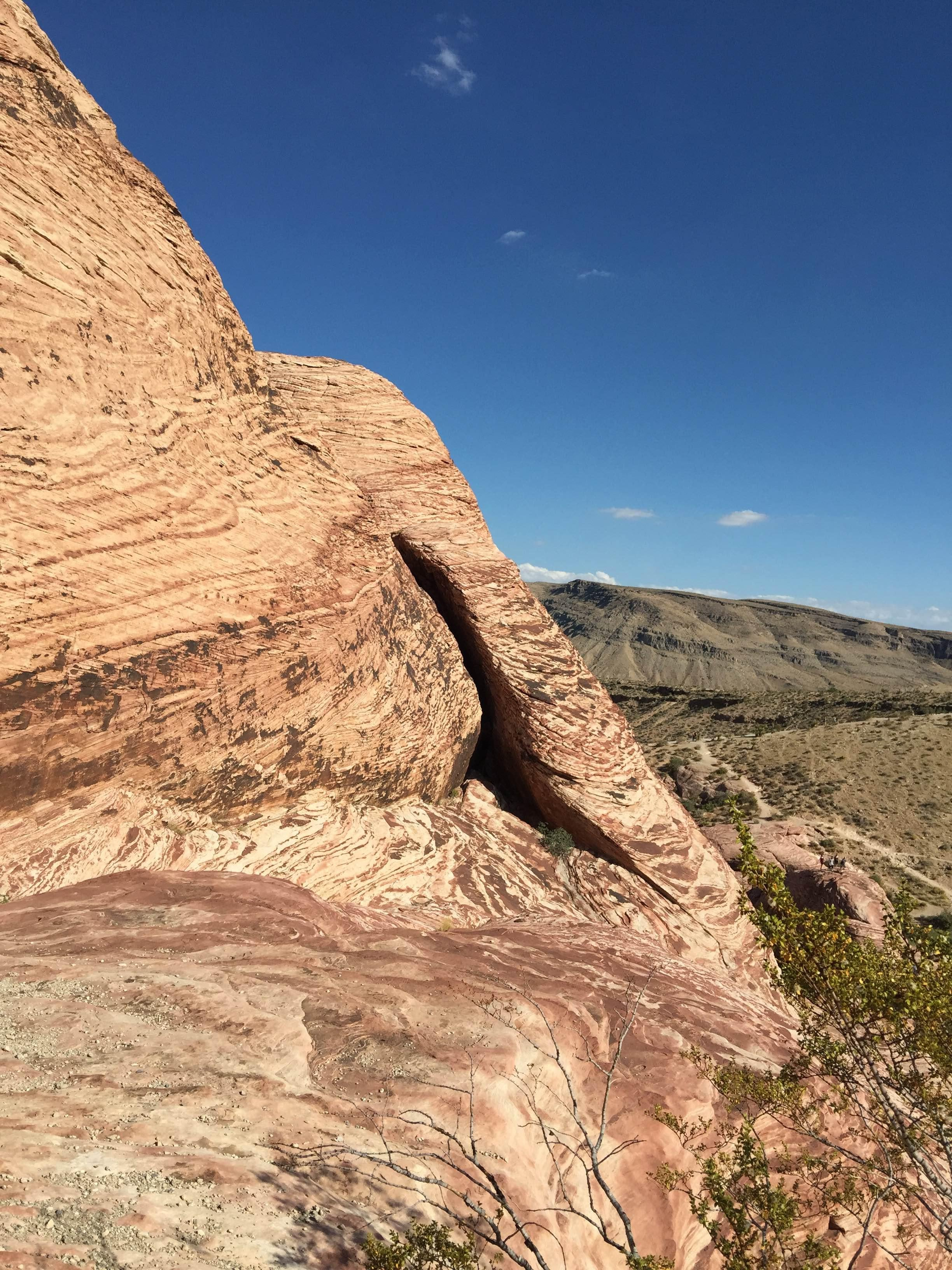 Piedra en Red Rock Canyon National Conservation Area