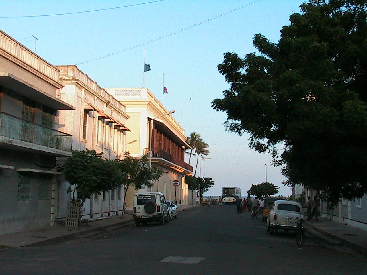 Aldea en Pondicherry