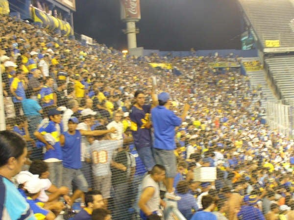 Multitud en Estadio del Vélez Sarsfield
