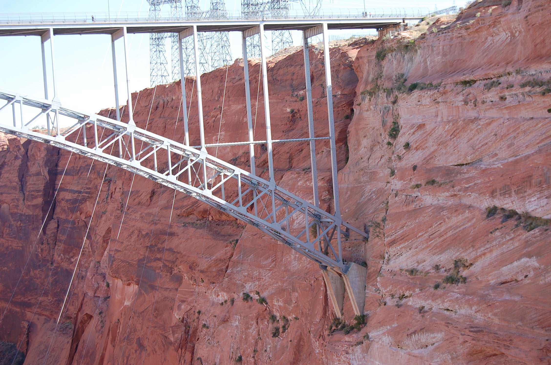 Cerca en Glen Canyon Bridge